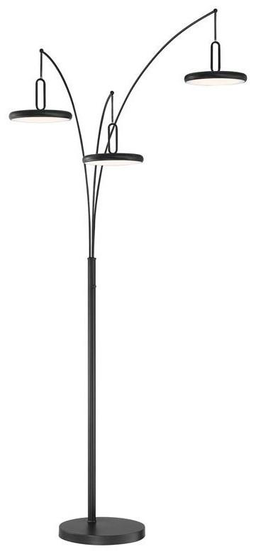 LS Lamps SAILEE ARC FLOOR LAMP at Walker's Furniture