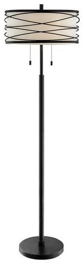 LS Lamps Lumiere Floor Lamp at Walker's Furniture