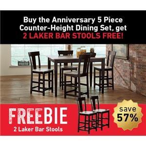 Anniversary Dining Set with Freebie!