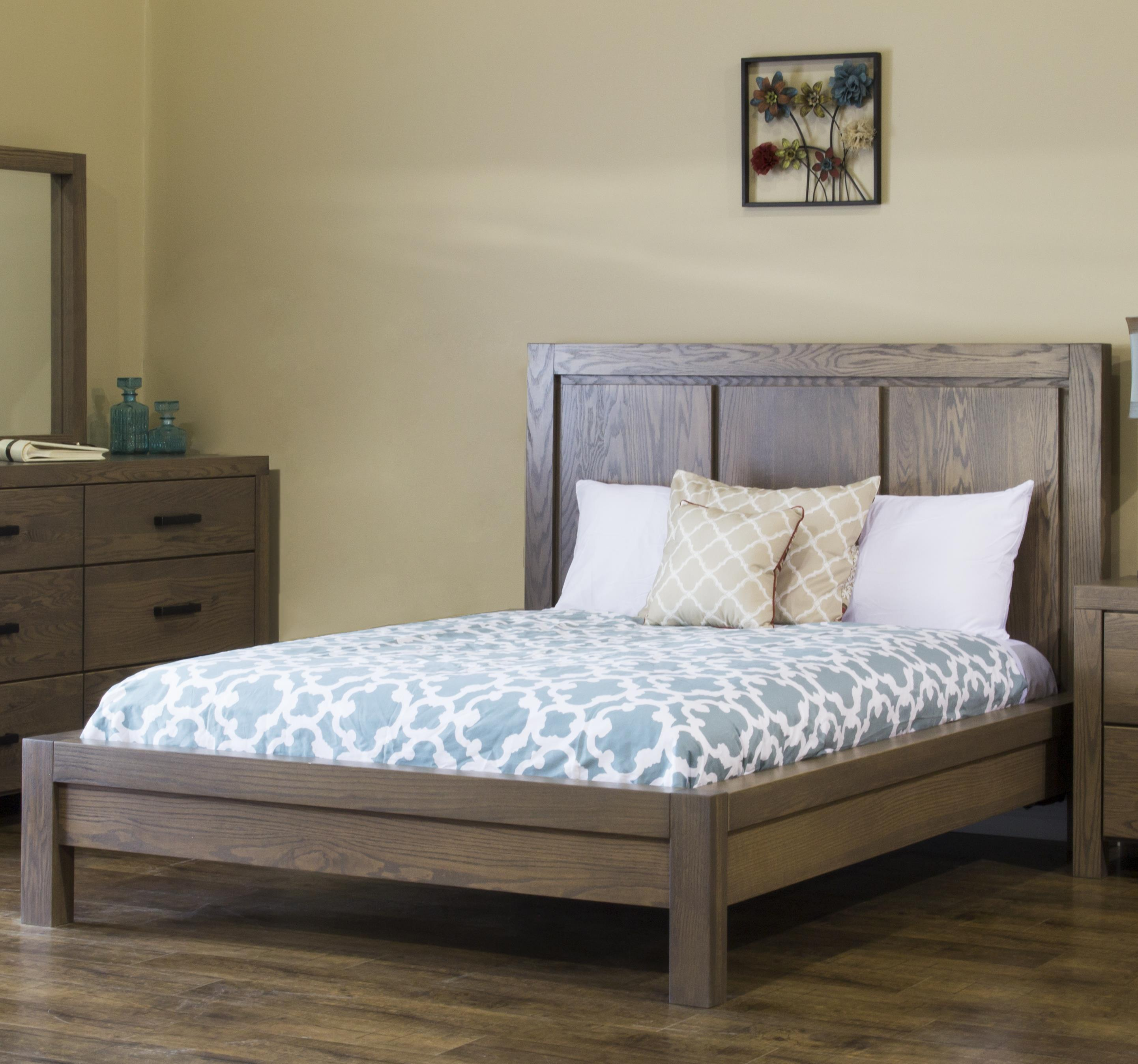 Canyon Lake King Low Profile Bed by L.J. Gascho Furniture at Goods Furniture