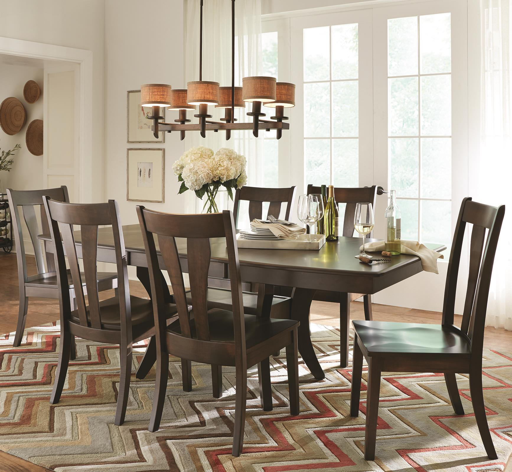 Covina 5 Piece Table & Chair Set at Morris Home