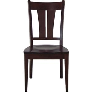 L.J. Gascho Furniture Solid Wood Dining Sets Sterling Side Chair