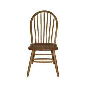 Solid Wood Dining Sets Bow Spindle Side Chair by L.J. Gascho Furniture at Goods Furniture