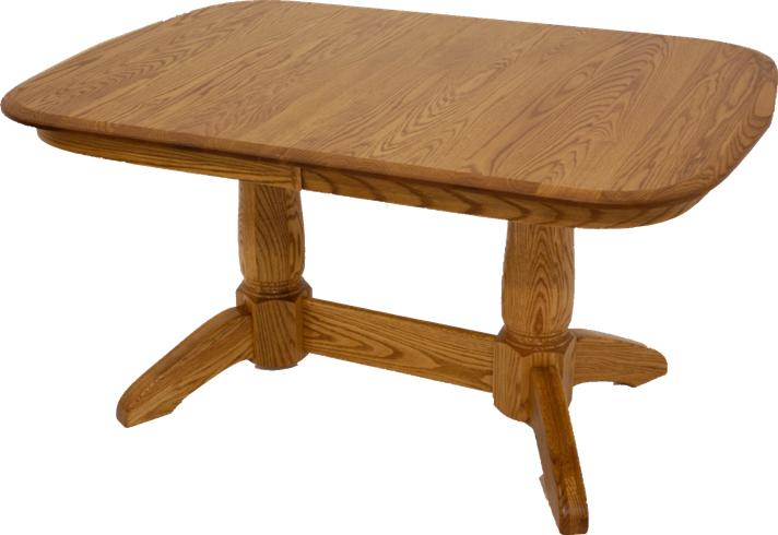 Heritage  Pedestal Dining Table by L.J. Gascho Furniture at Goods Furniture
