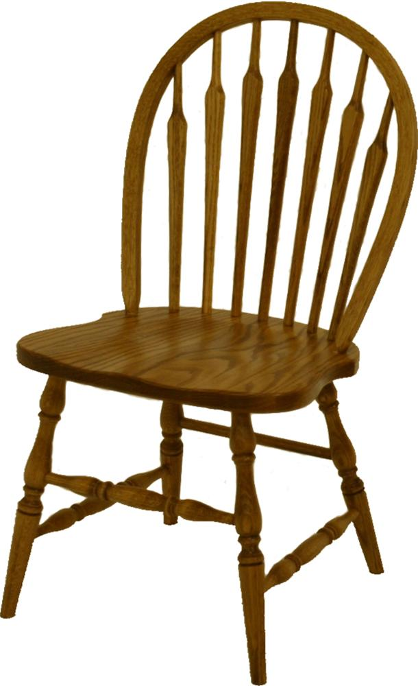 Oak Ridge  Dining Side Chair by L.J. Gascho Furniture at Goods Furniture
