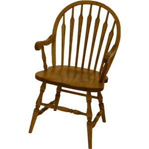 L.J. Gascho Furniture Oak Ridge  Dining Arm Chair