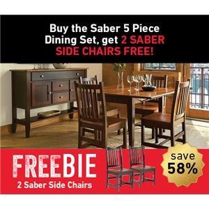 Saber Dining Set with Freebie!