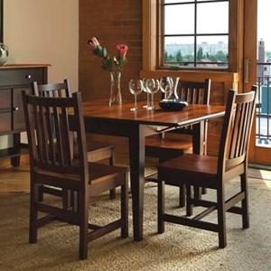Saber Solid Maple 5-Piece Dining Set