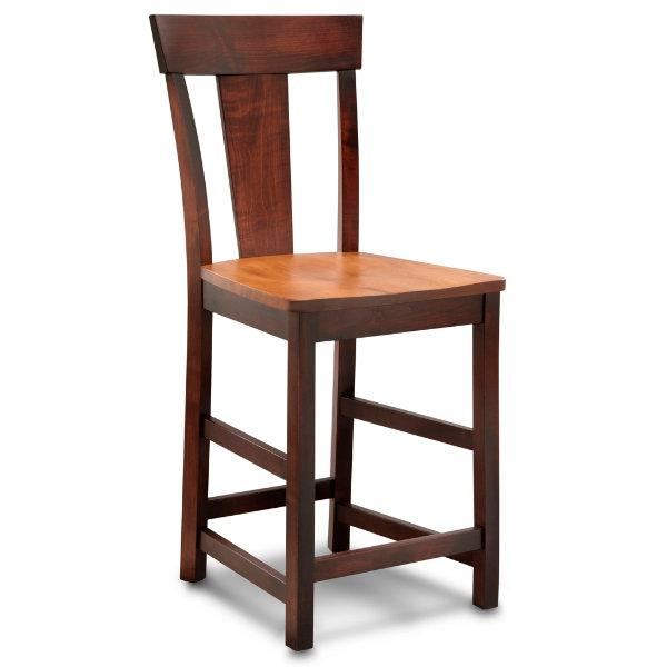 """Venice  24"""" Stationary Barstool by L.J. Gascho Furniture at Goods Furniture"""