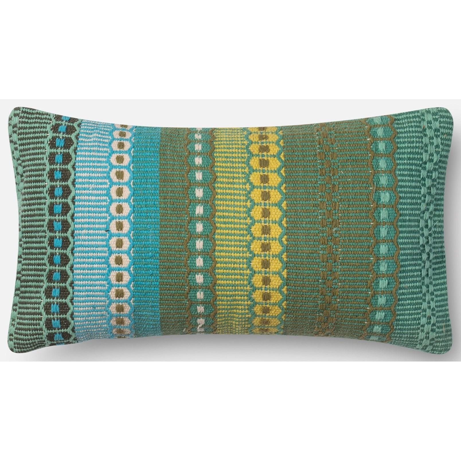 """Accent Pillows 1' X 1'-10"""" Down Pillow by Loloi Rugs at Sprintz Furniture"""