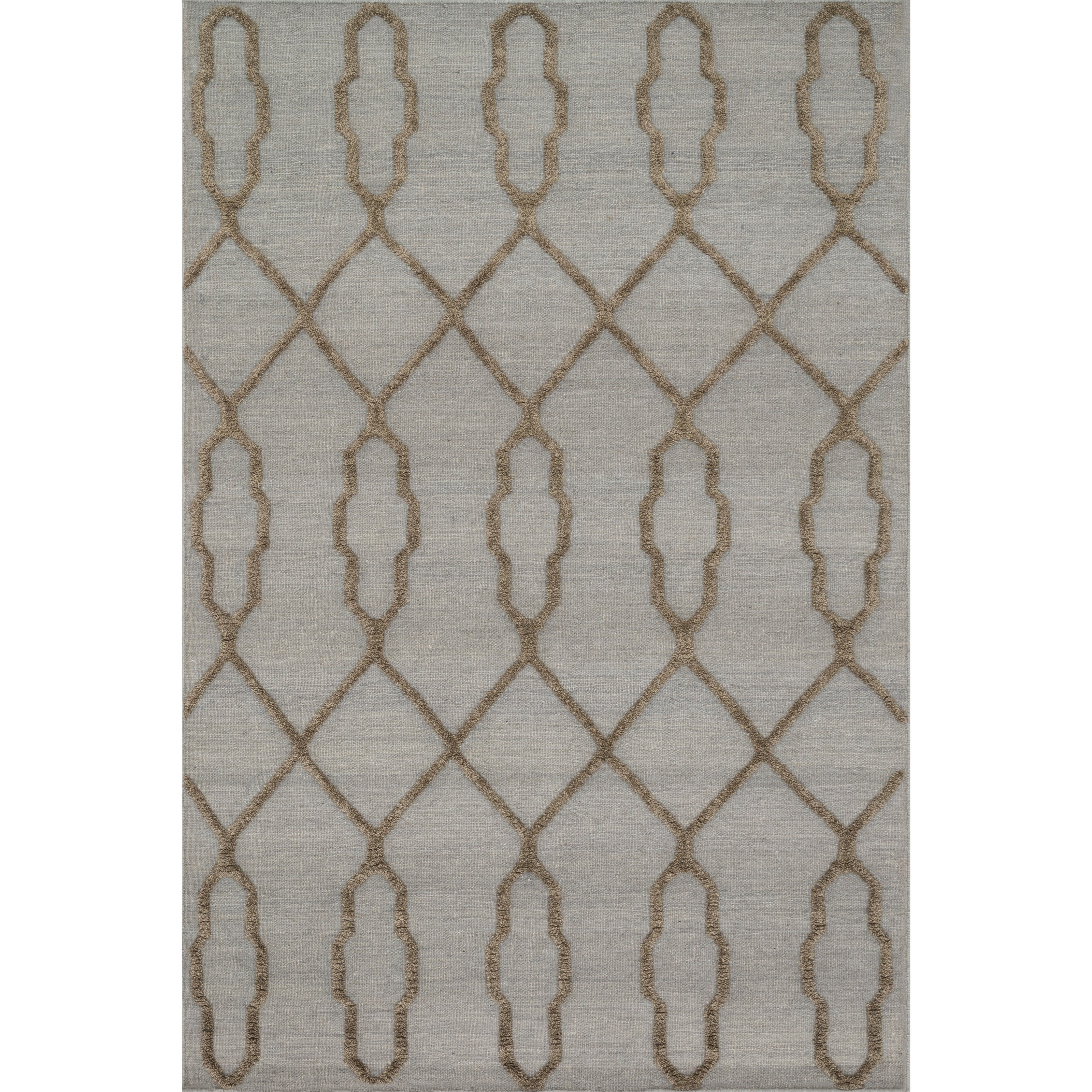 """Adler 1'6"""" x 1'6""""  Slate Rug by Loloi Rugs at Virginia Furniture Market"""