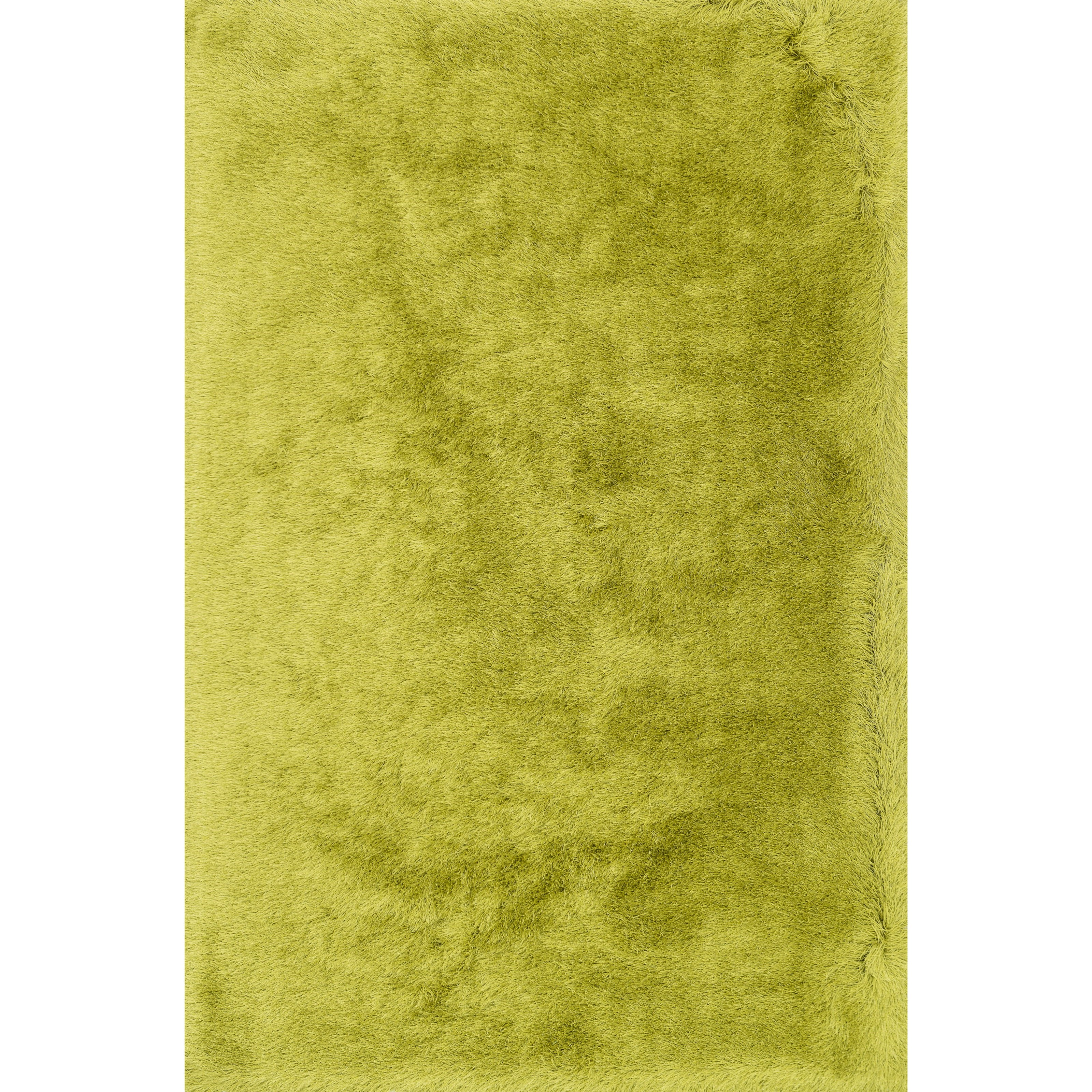 """Allure Shag 8'0"""" x 8'0"""" Round Citron Rug by Loloi Rugs at Sprintz Furniture"""