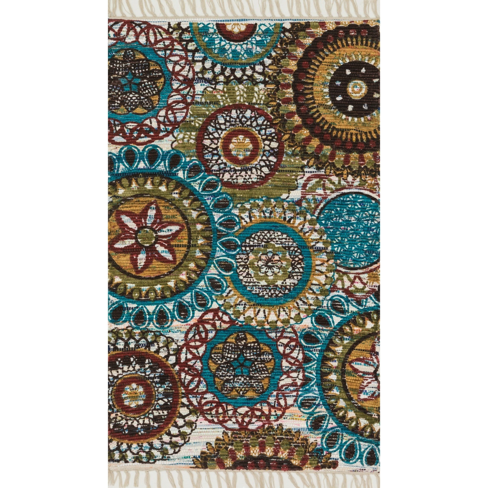 """Aria 3'-6"""" x 5'-6"""" Area Rug by Loloi Rugs at Virginia Furniture Market"""