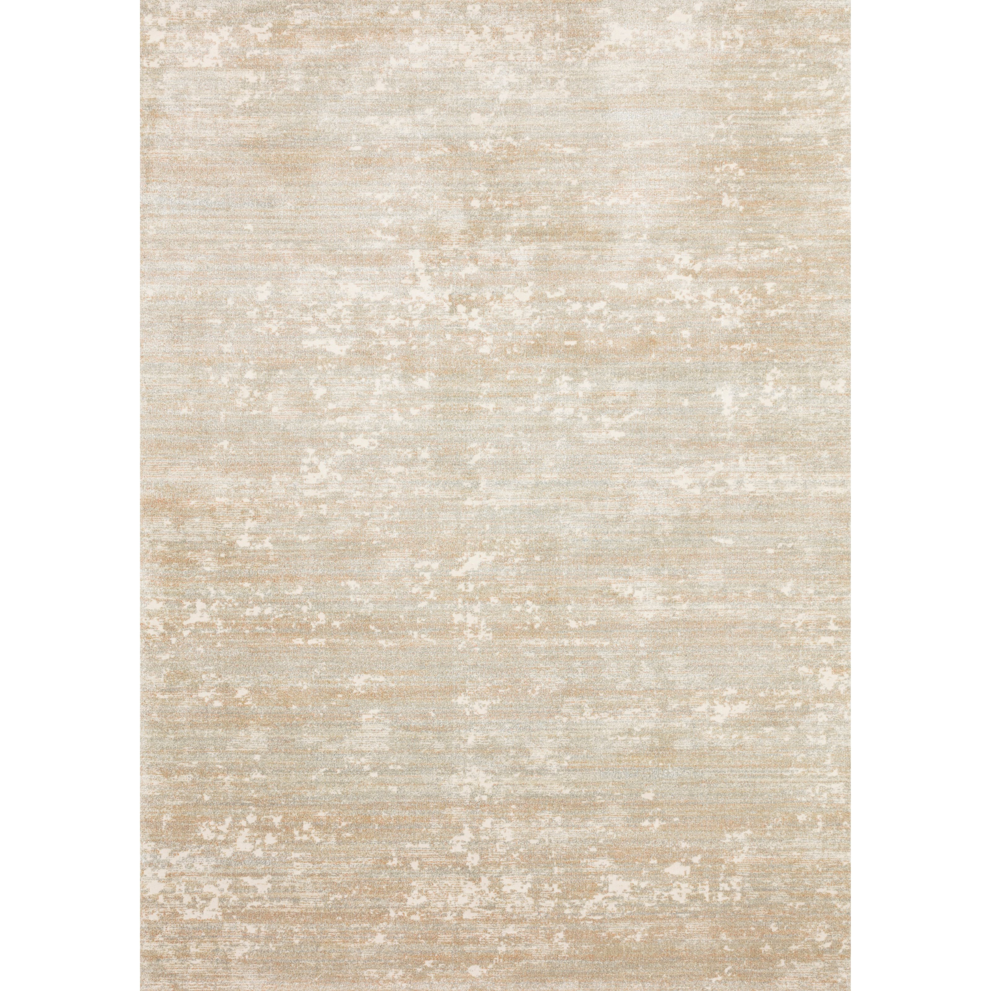 """Augustus 3'7"""" x 5'7"""" Sunset / Mist Rug by Loloi Rugs at Virginia Furniture Market"""