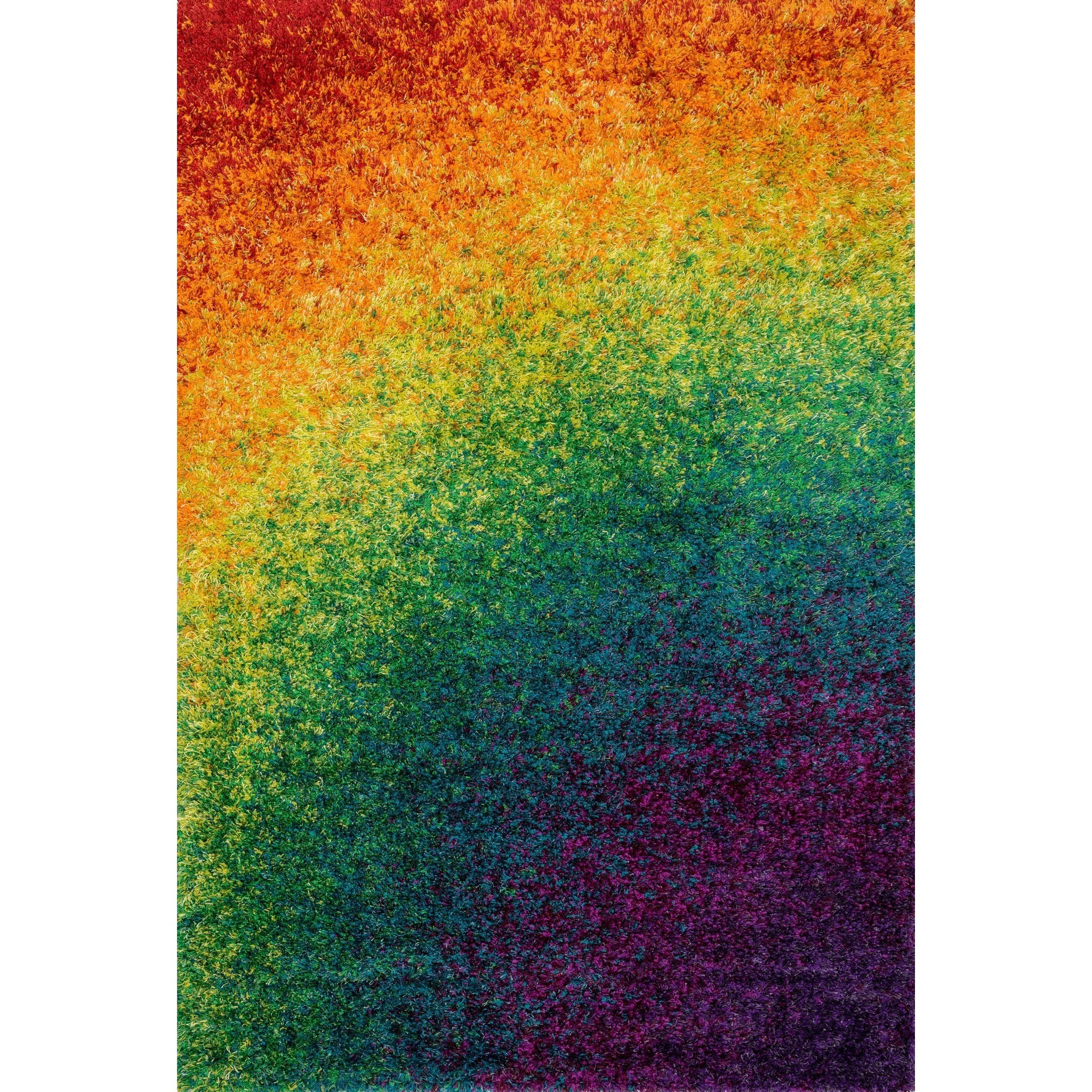 "Barcelona Shag 5'-2"" X 7'-7"" Area Rug by Loloi Rugs at Sprintz Furniture"