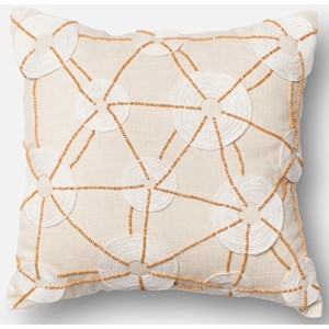 "Ivory 18"" X 18"" Down Pillow"