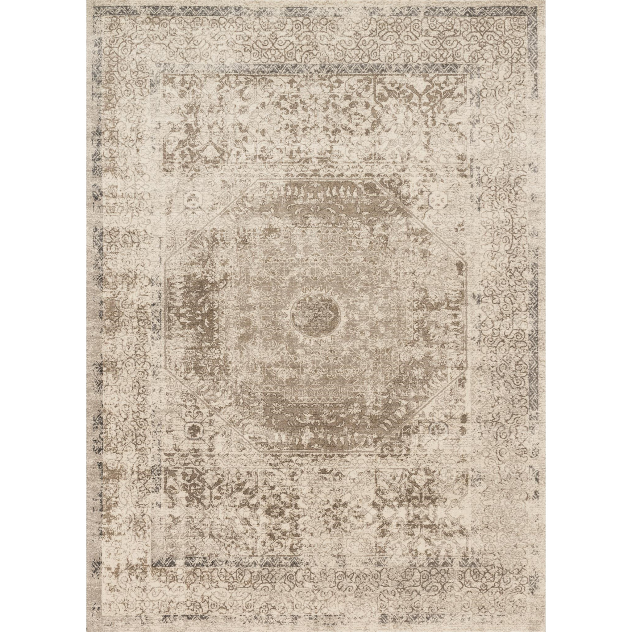"""Century 3'-7"""" X 5'-7"""" Area Rug by Loloi Rugs at Sprintz Furniture"""