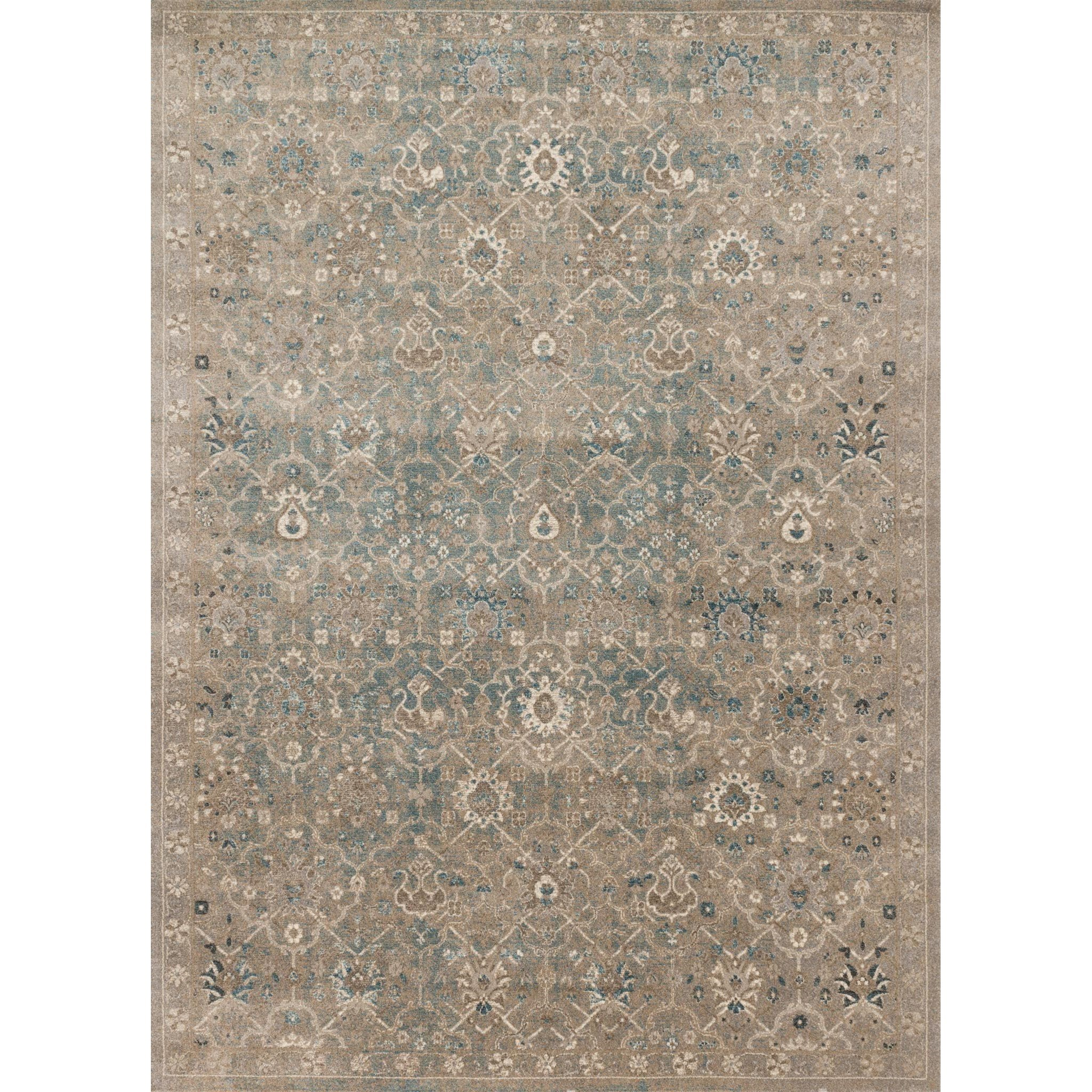 """Century 5'-3"""" X 7'-6"""" Area Rug by Loloi Rugs at Virginia Furniture Market"""