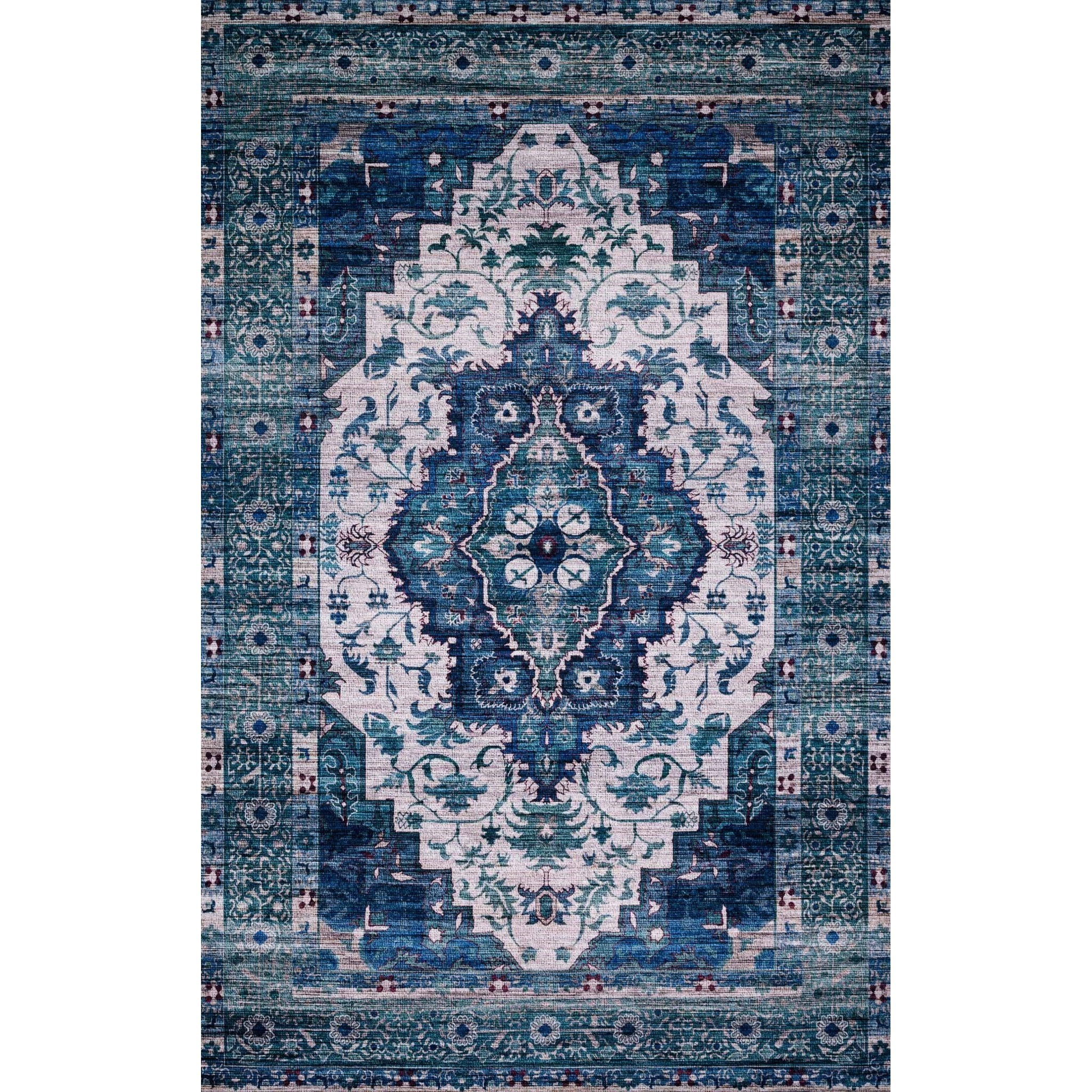 """Cielo-Loloi X Justina Blakeney Collection 2'-6"""" x 7'-6"""" Rug by Loloi Rugs at Virginia Furniture Market"""