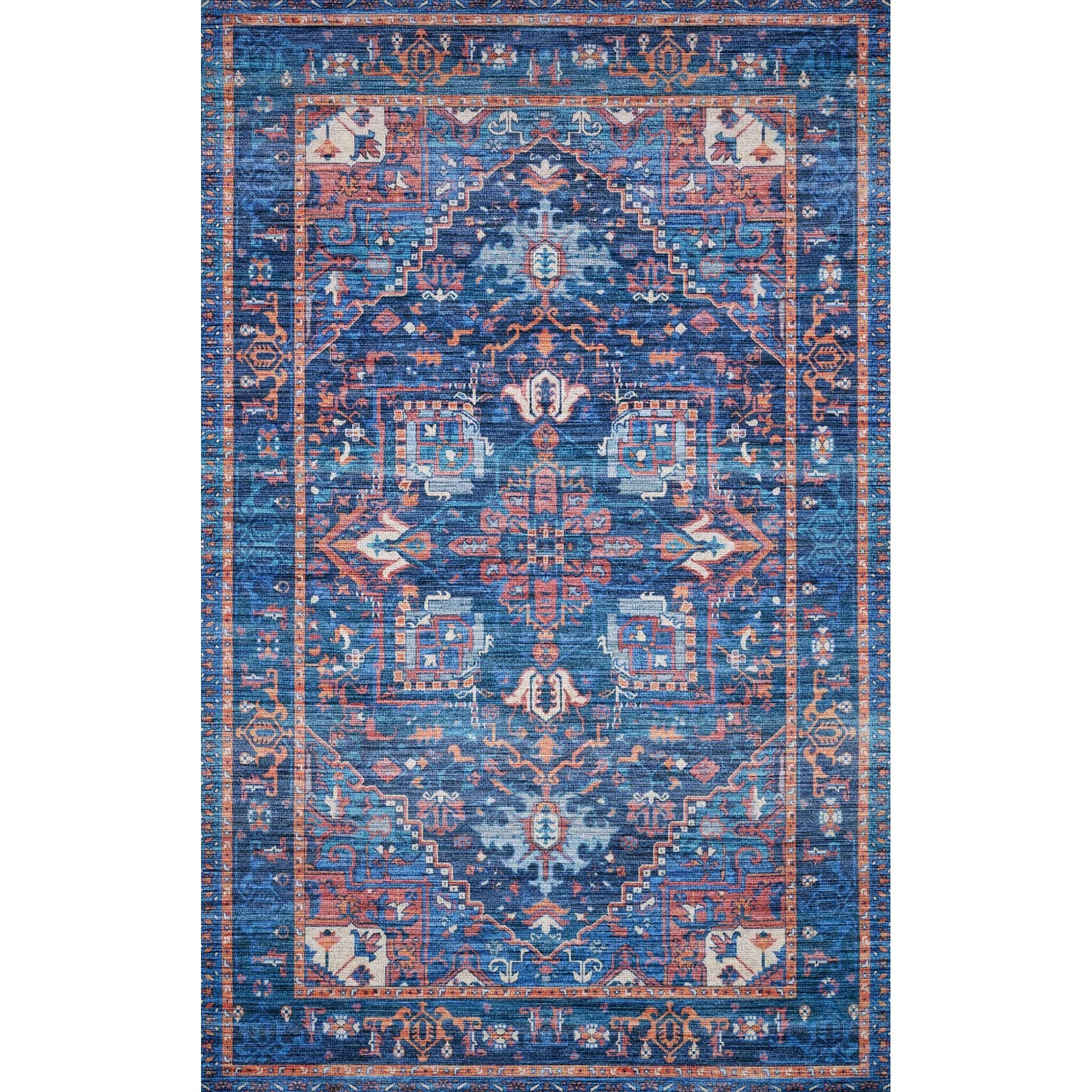 """Cielo-Loloi X Justina Blakeney Collection 2'-3"""" x 4'-0"""" Rug by Loloi Rugs at Virginia Furniture Market"""