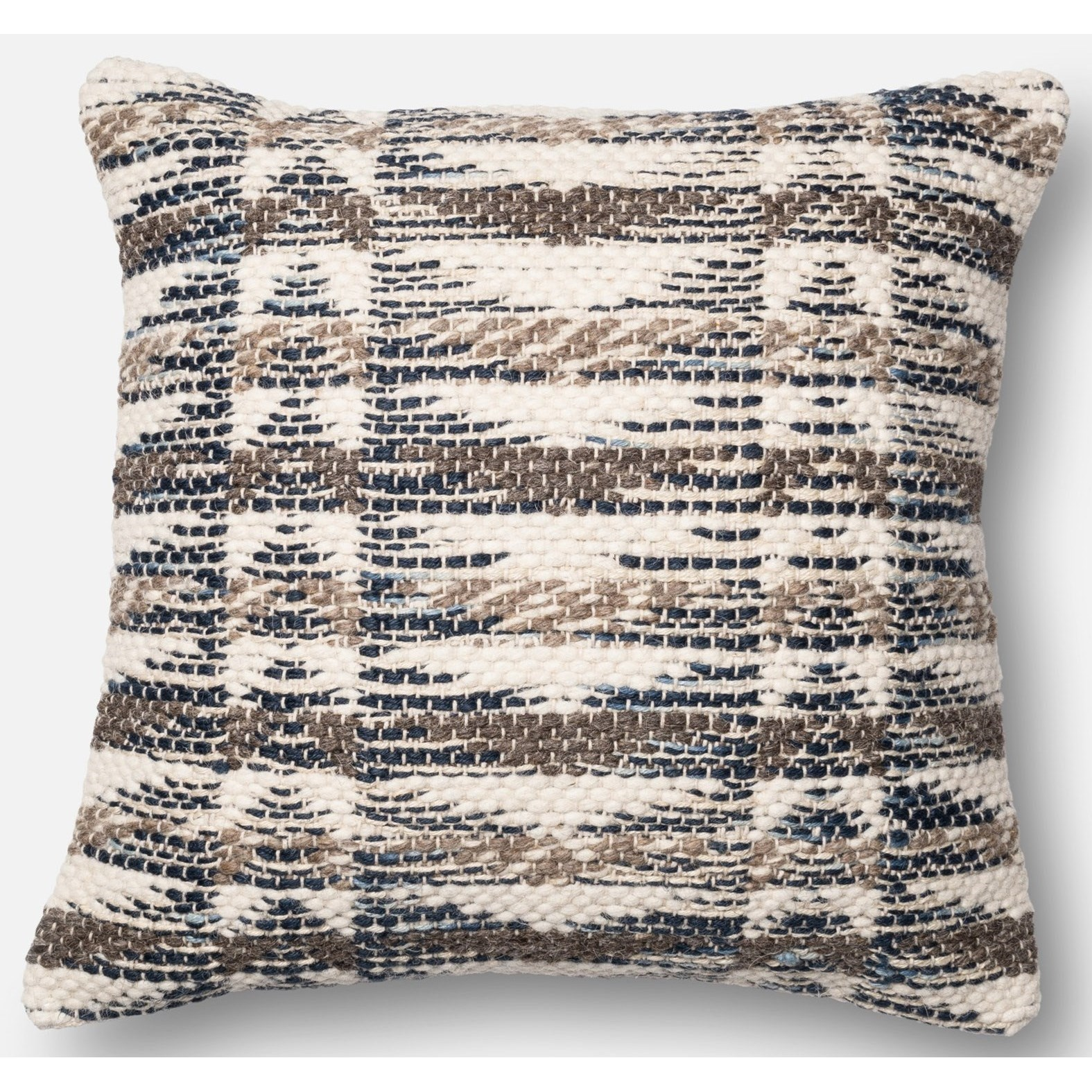 """Dhurri Style 22"""" X 22"""" Down Pillow by Loloi Rugs at Virginia Furniture Market"""
