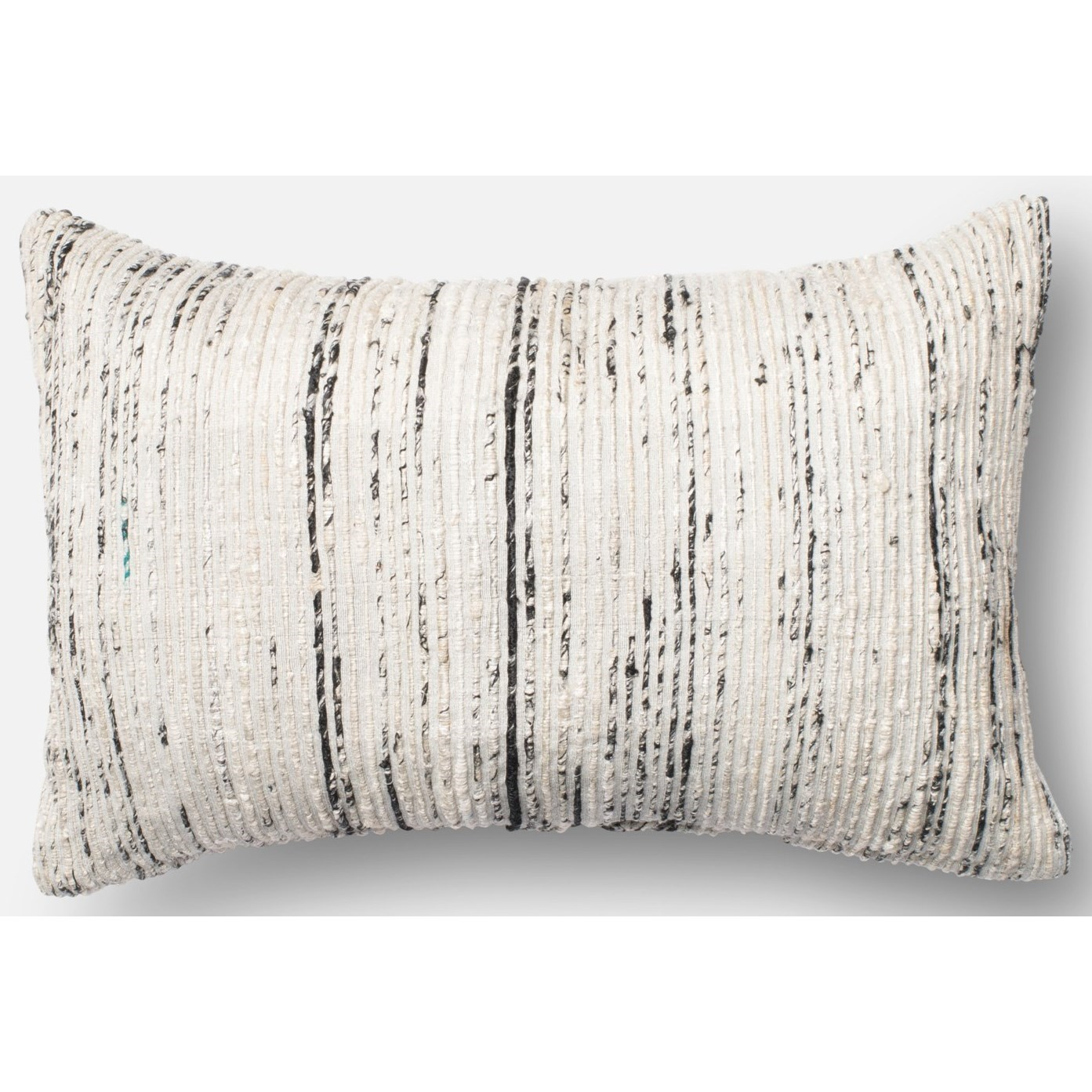 "Dhurri Style 13"" X 21"" Down Pillow by Loloi Rugs at Sprintz Furniture"