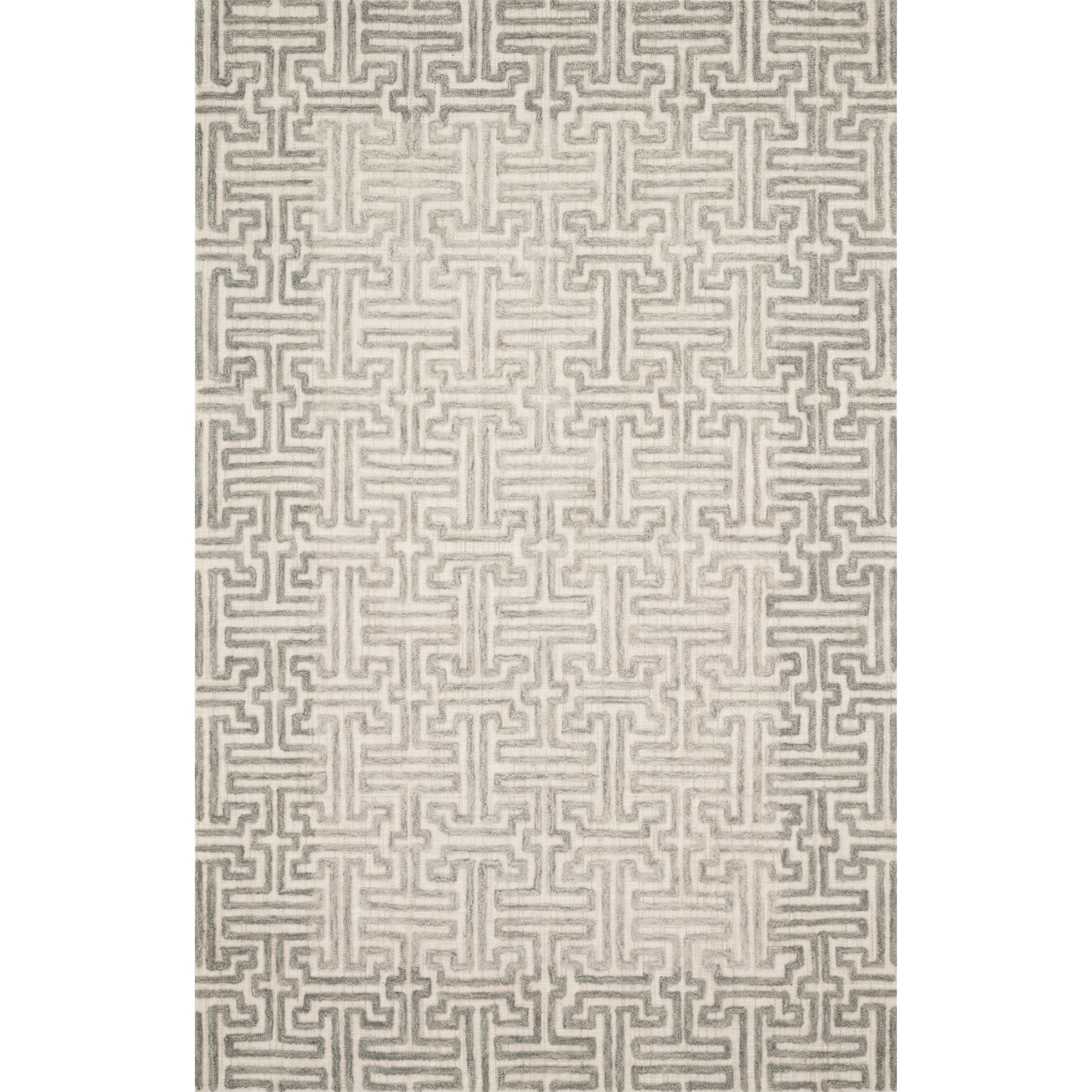 "Ehren 11'6"" x 15' Stone / Sand Rug by Loloi Rugs at Virginia Furniture Market"
