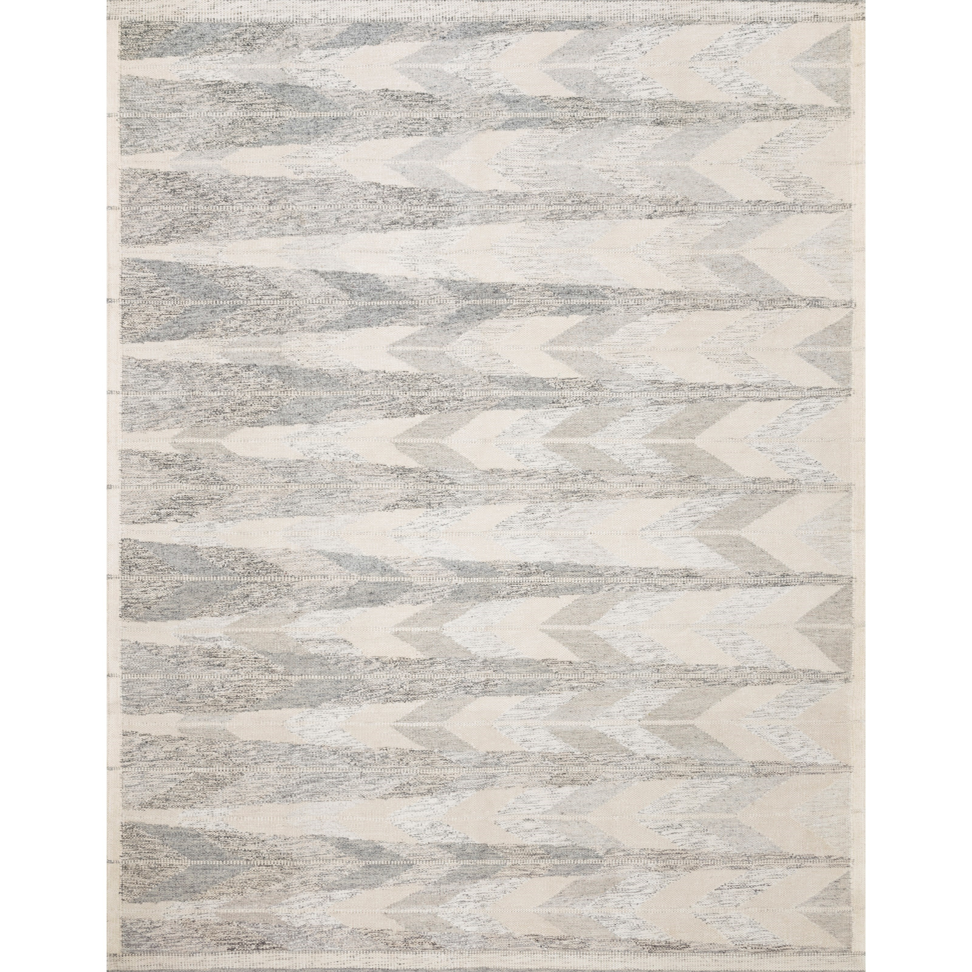 """Evelina 3'6"""" x 5'6"""" Pewter / Silver Rug by Loloi Rugs at Sprintz Furniture"""