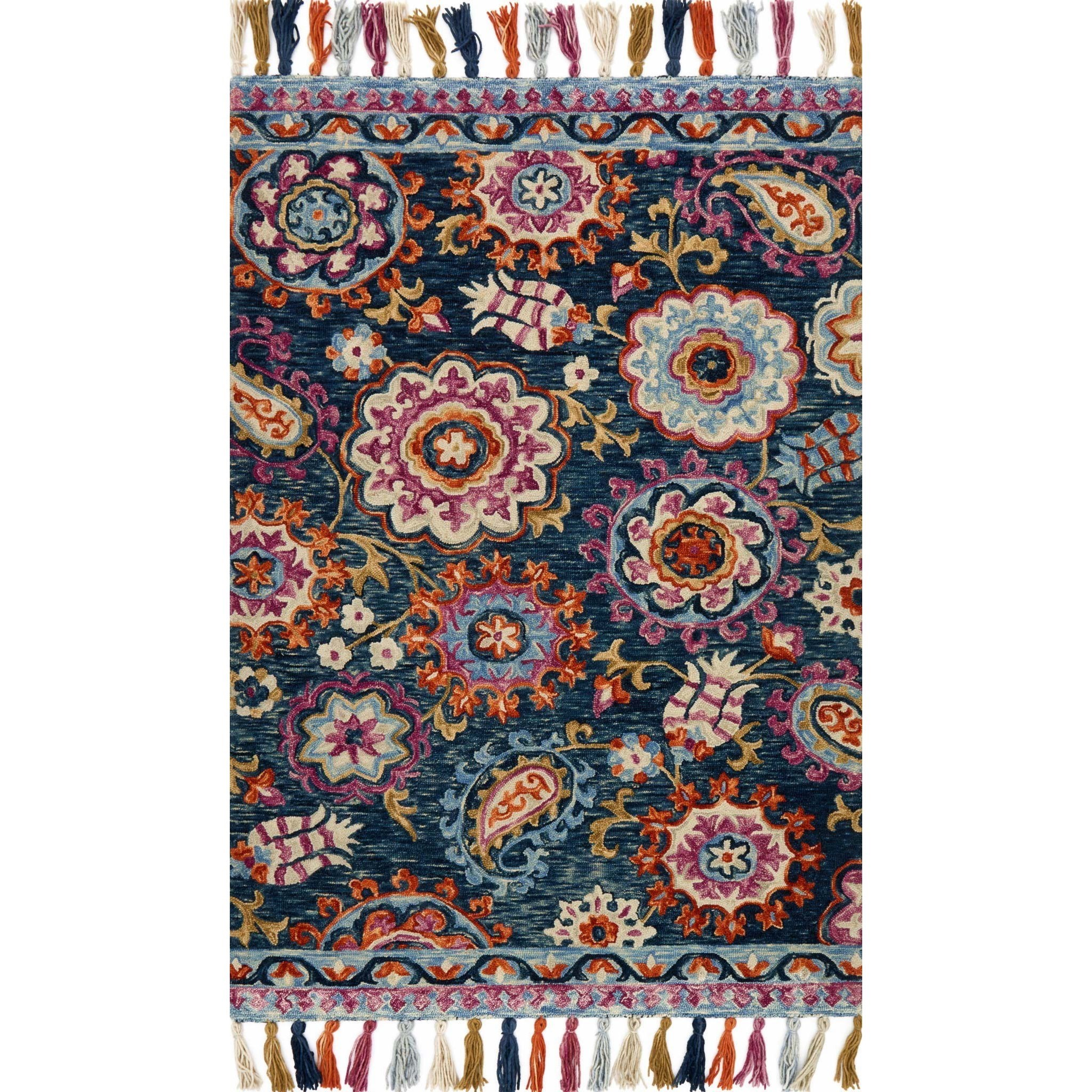 "Farrah 7'-9"" X 9'-9"" Rug by Loloi Rugs at Virginia Furniture Market"