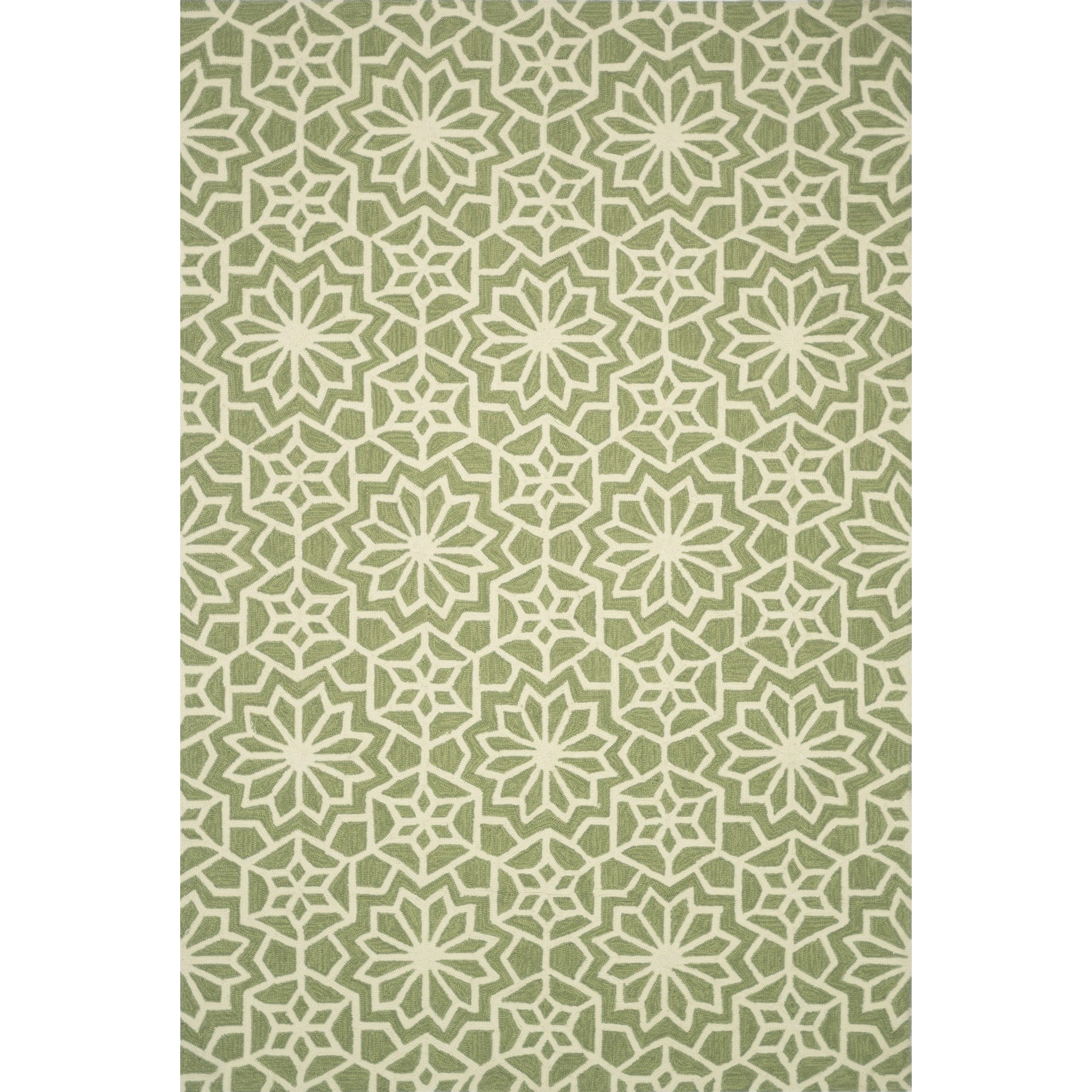 """Francesca 5'-0"""" x 7'-6"""" Area Rug by Loloi Rugs at Belfort Furniture"""