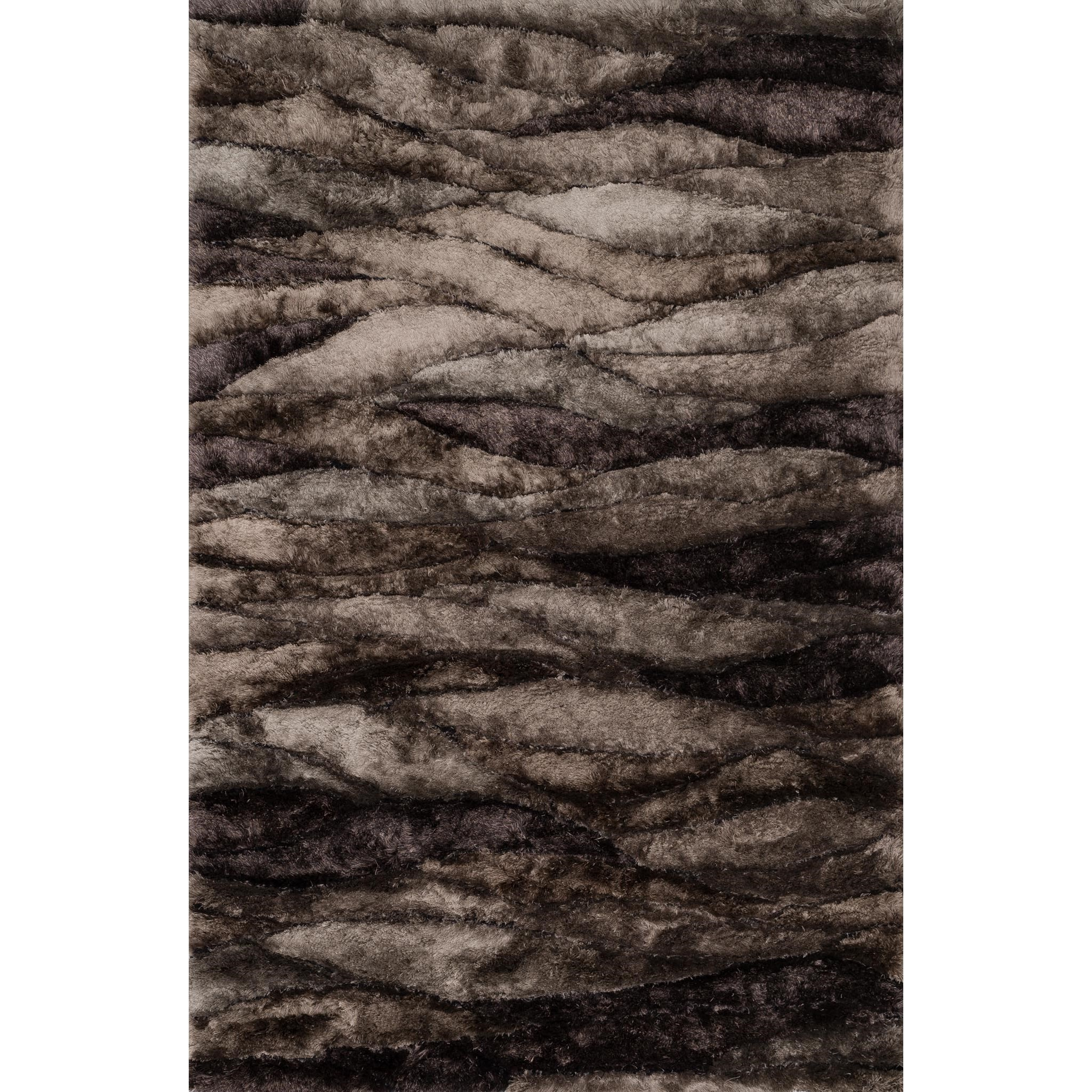 """Glamour Shag 5'-0"""" x 7'-6"""" Area Rug by Loloi Rugs at Virginia Furniture Market"""