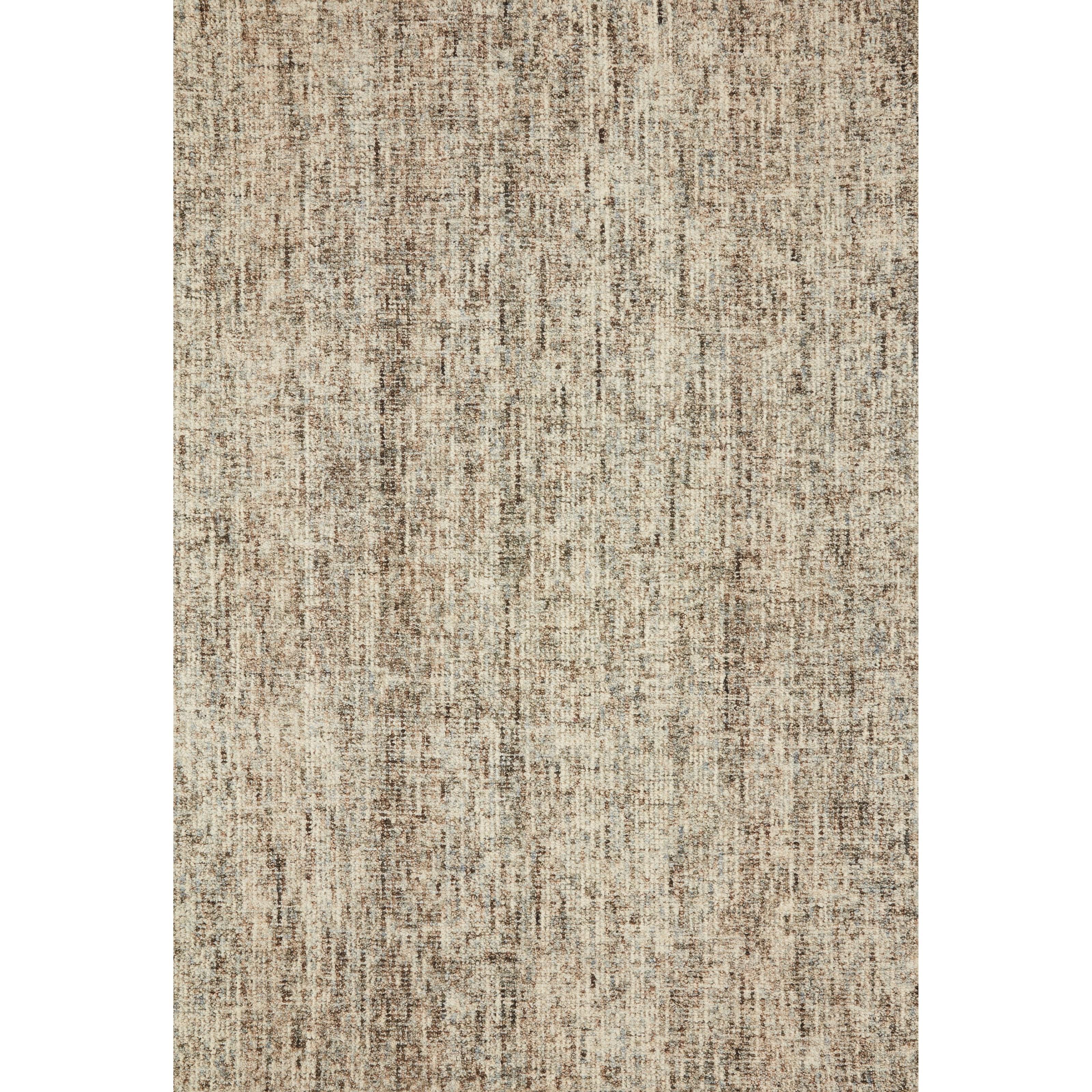 "Harlow 5'0"" x 7'6"" Mocha / Mist Rug by Loloi Rugs at Virginia Furniture Market"