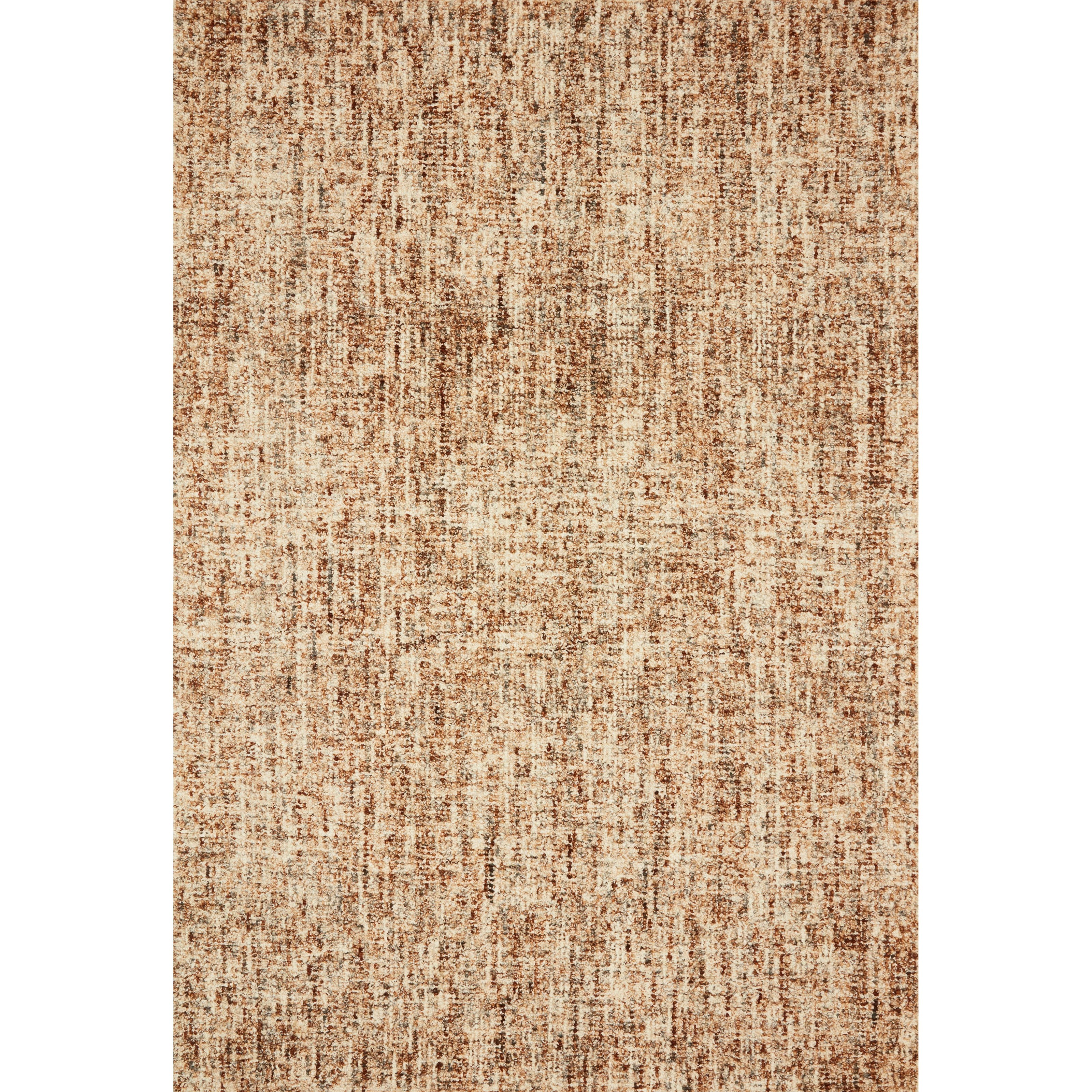 """Harlow 7'9"""" x 9'9"""" Rust / Charcoal Rug by Loloi Rugs at Sprintz Furniture"""