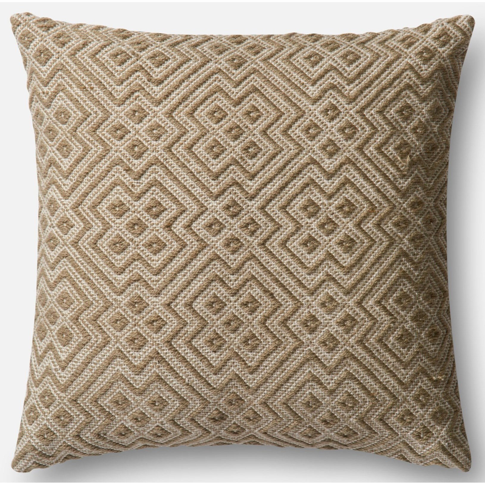 """Indoor/Outdoor Pillows 22"""" X 22""""  Pillow Cover Only by Loloi Rugs at Virginia Furniture Market"""