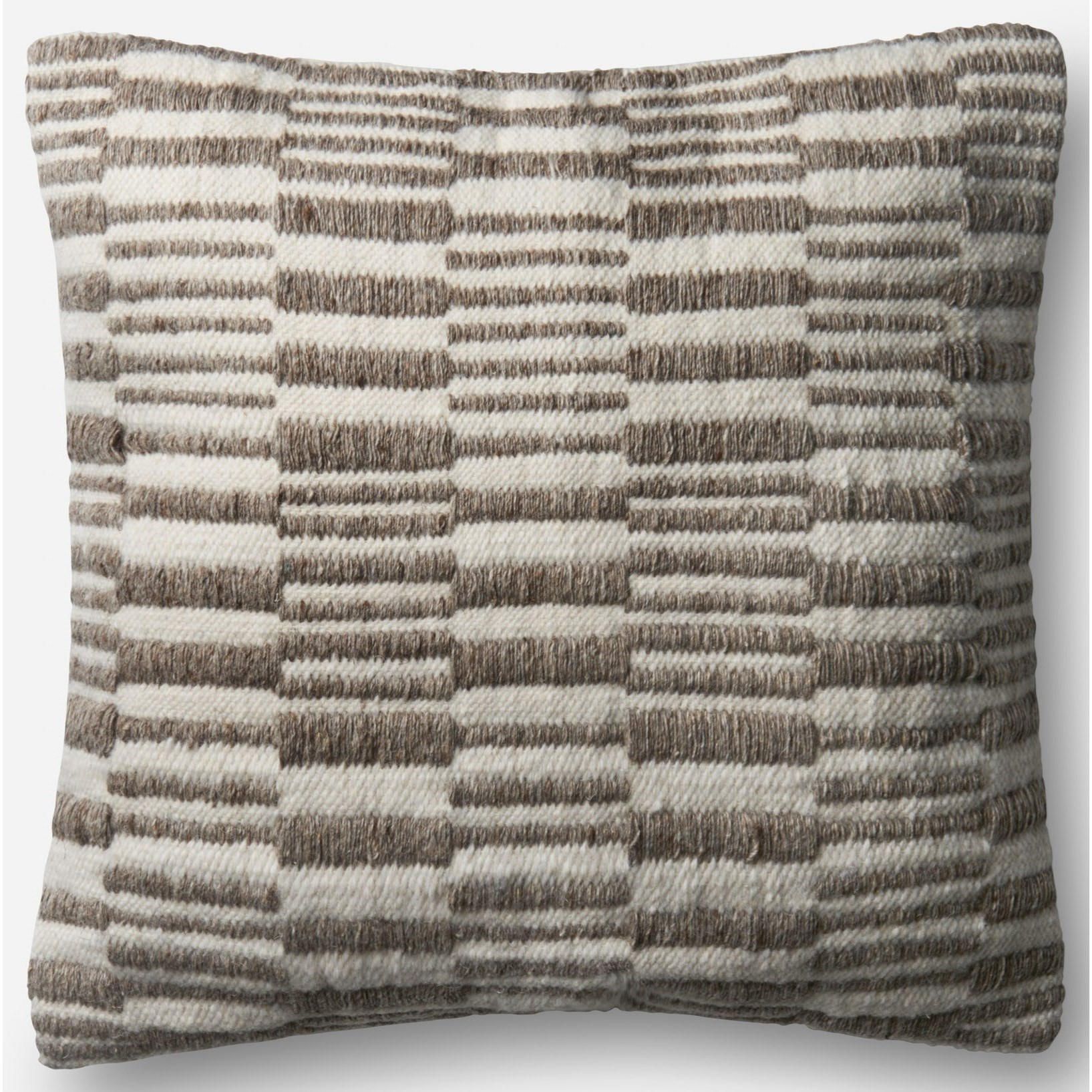 """Indoor/Outdoor Pillows 22"""" X 22"""" Pillow w/ Poly Fill by Loloi Rugs at Virginia Furniture Market"""