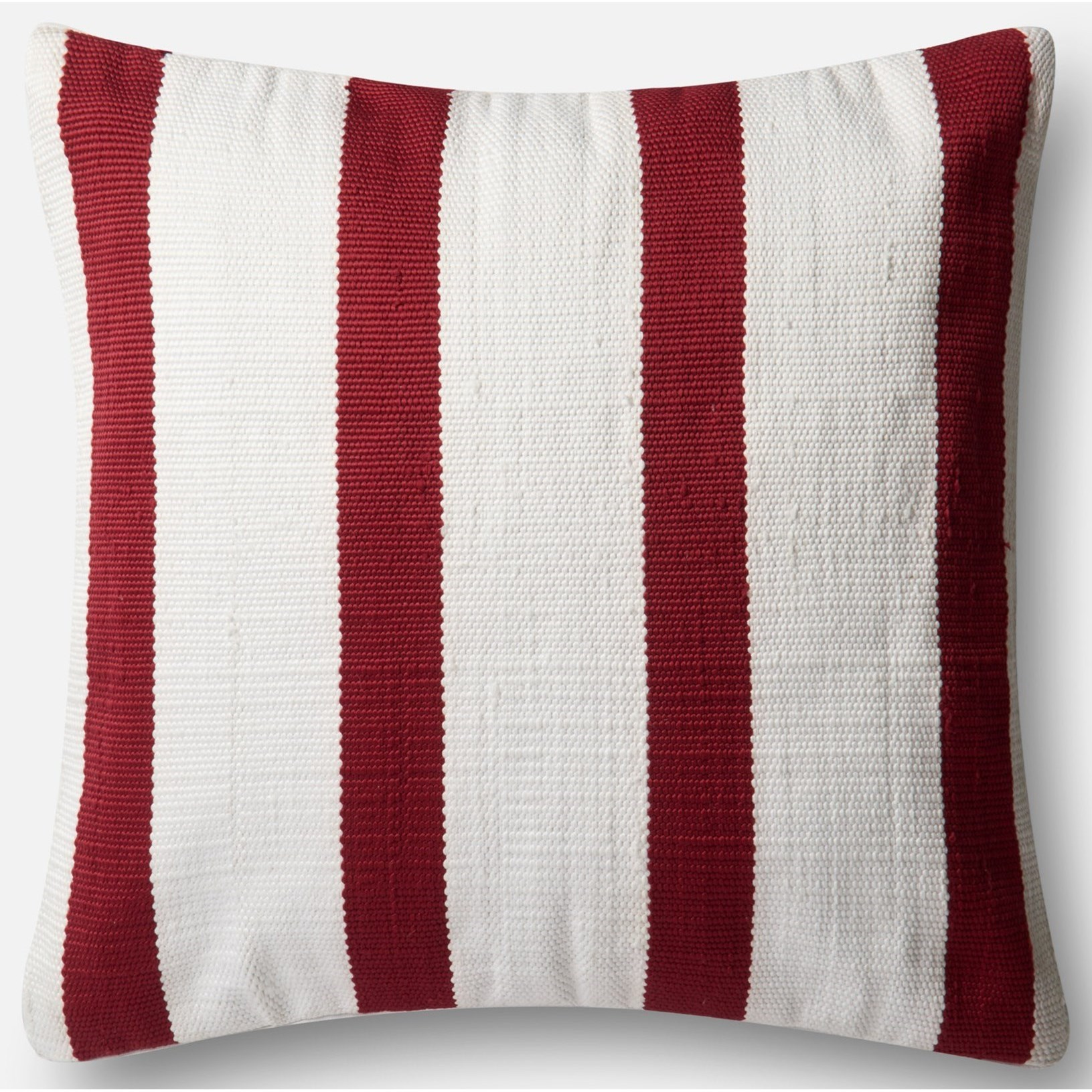 """Indoor/Outdoor 22"""" X 22"""" Down Pillow by Loloi Rugs at Virginia Furniture Market"""