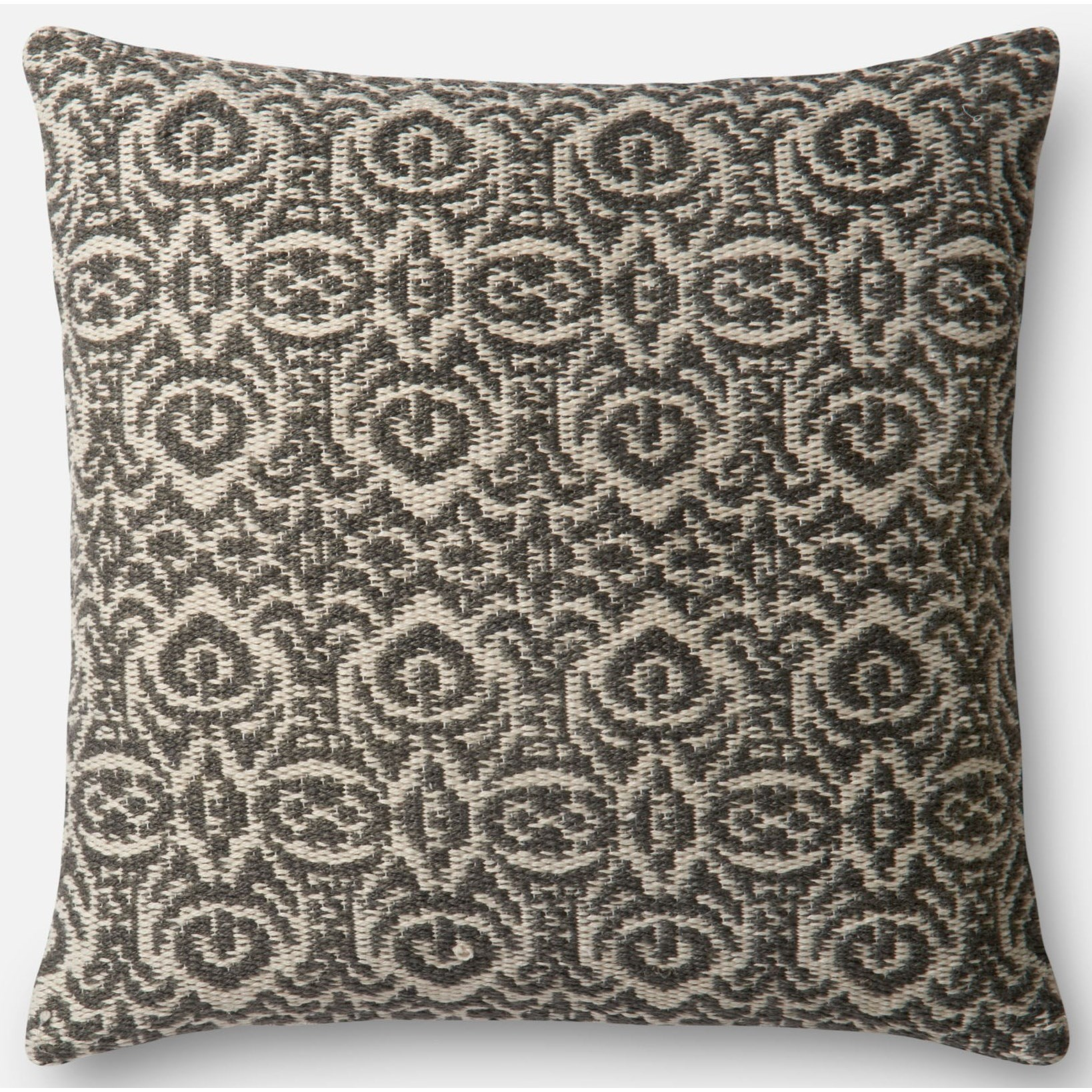 """Indoor/Outdoor 22"""" X 22"""" Cover w/Poly by Loloi Rugs at Virginia Furniture Market"""