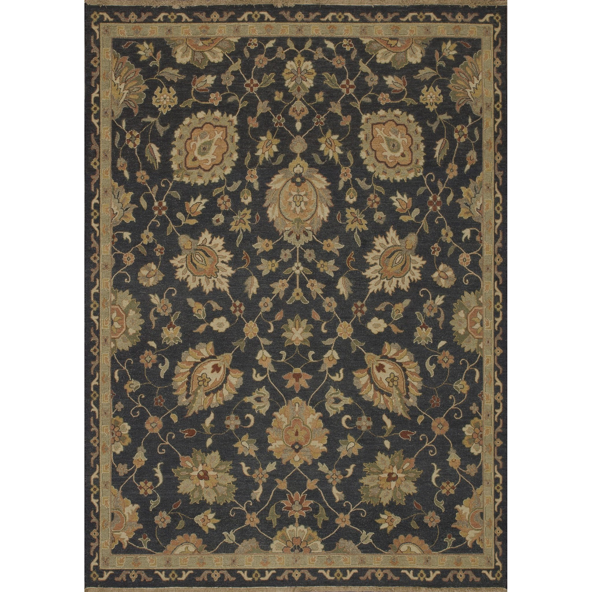 """Laurent 4'-0"""" x 6'-0"""" Area Rug by Loloi Rugs at Virginia Furniture Market"""