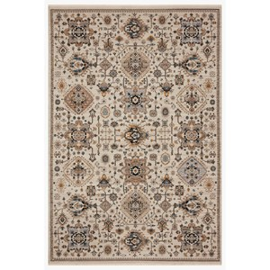 """4'0"""" x 5'5"""" Ivory / Taupe Rug"""