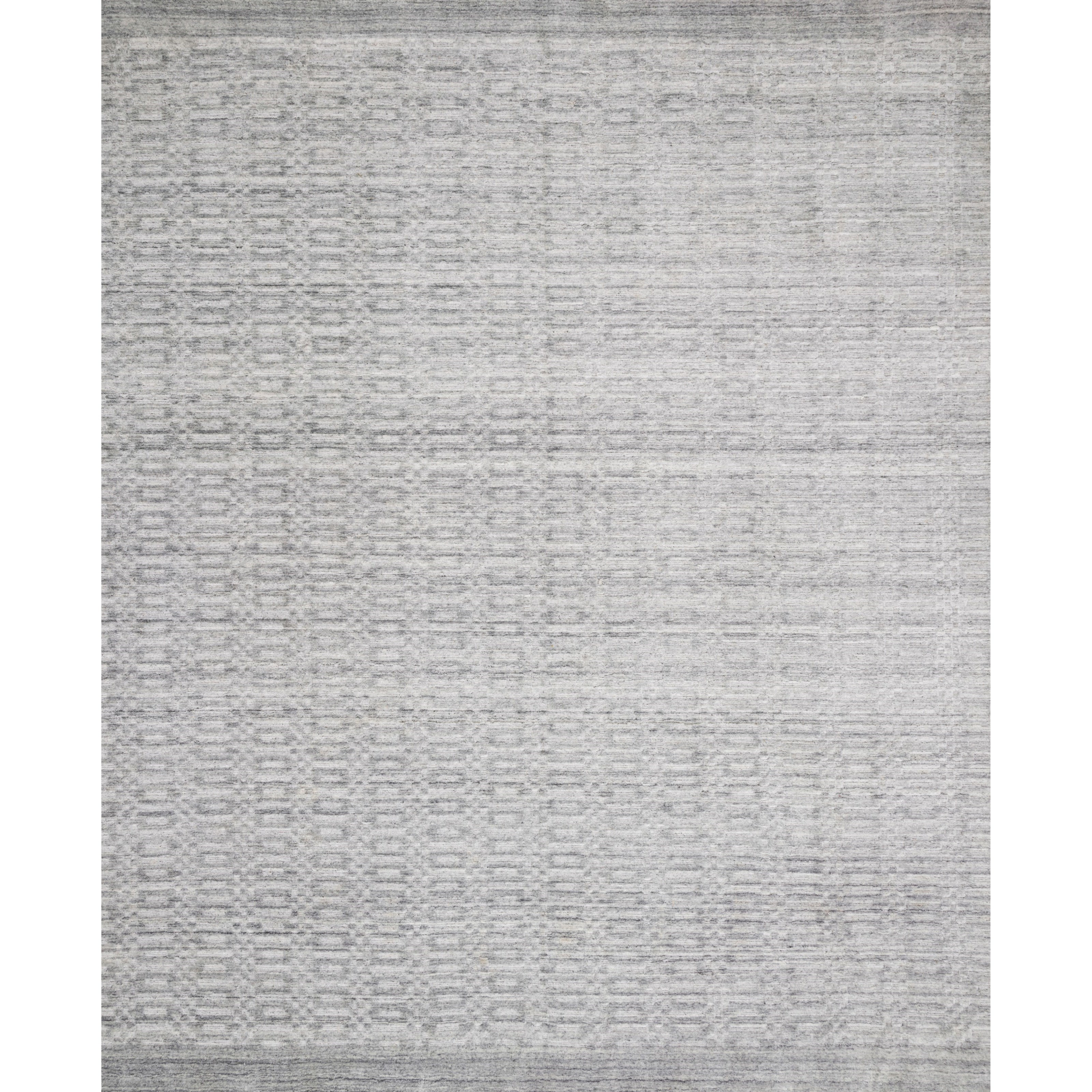 """Lennon 7'9"""" x 9'9"""" Silver Rug by Loloi Rugs at Virginia Furniture Market"""