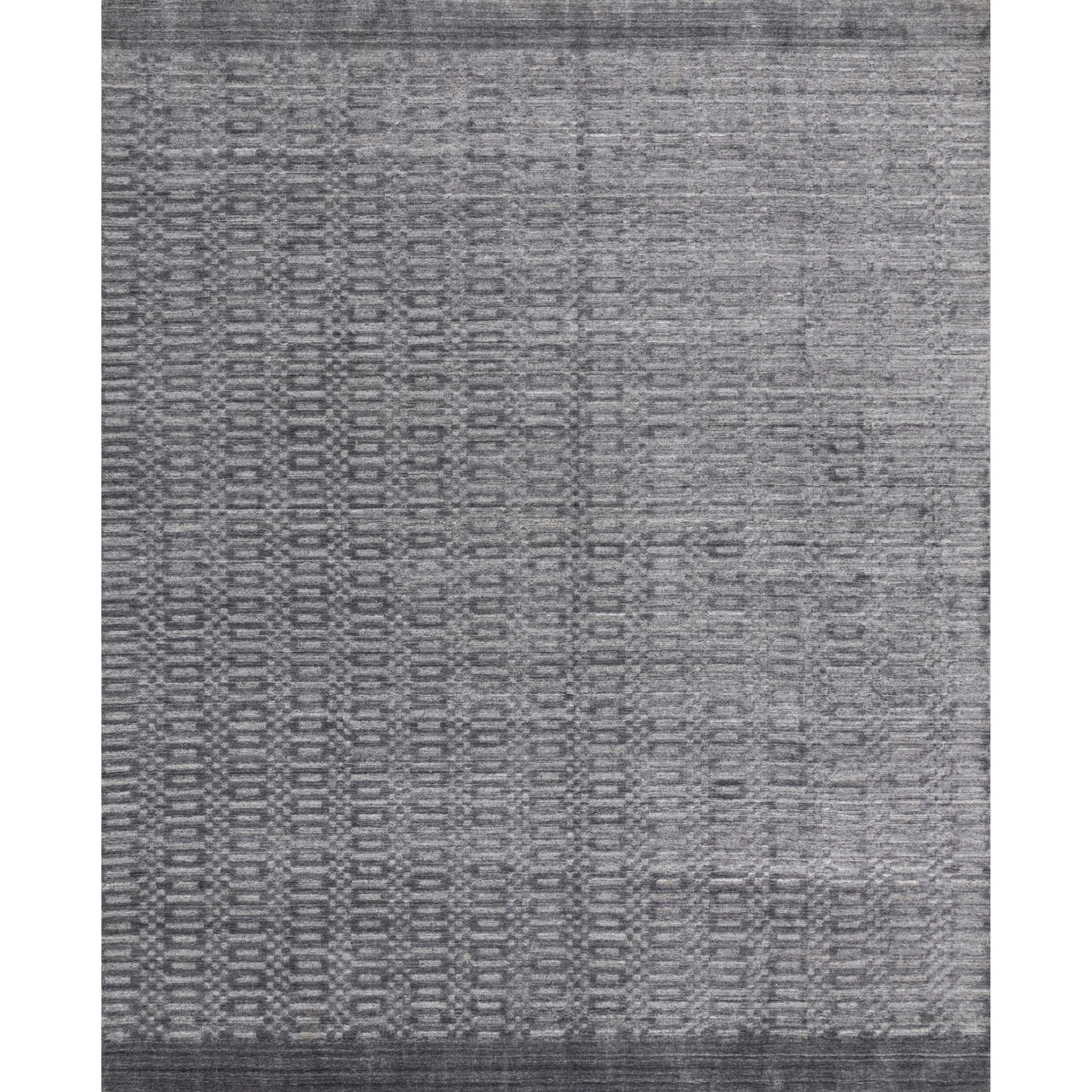 """Lennon 5'6"""" x 8'6"""" Steel Rug by Loloi Rugs at Virginia Furniture Market"""