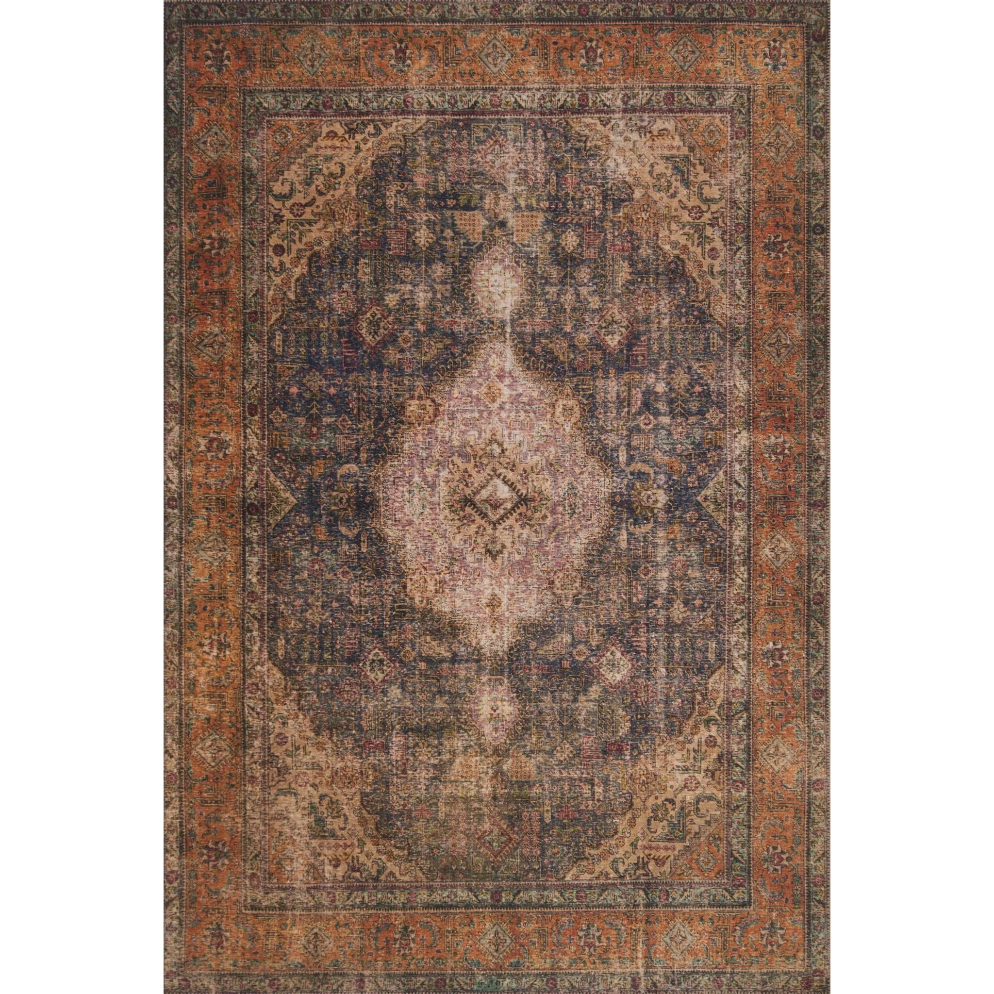 "Loren 5'-0"" x 7'-6"" Area Rug by Loloi Rugs at Virginia Furniture Market"