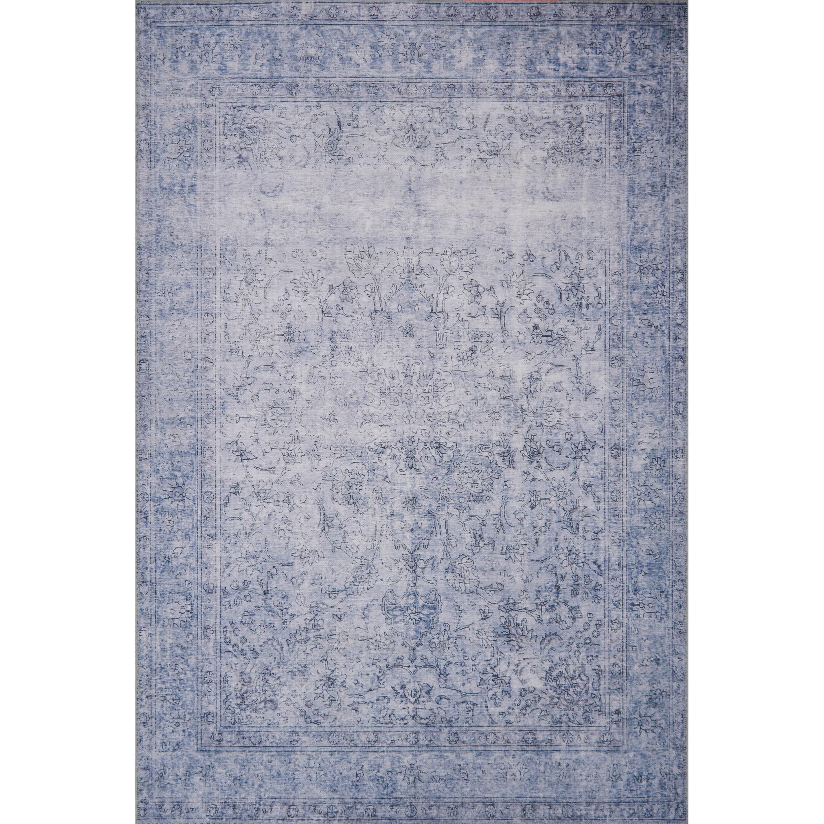 "Loren 8'4"" x 11'6"" Slate Rug by Loloi Rugs at Virginia Furniture Market"