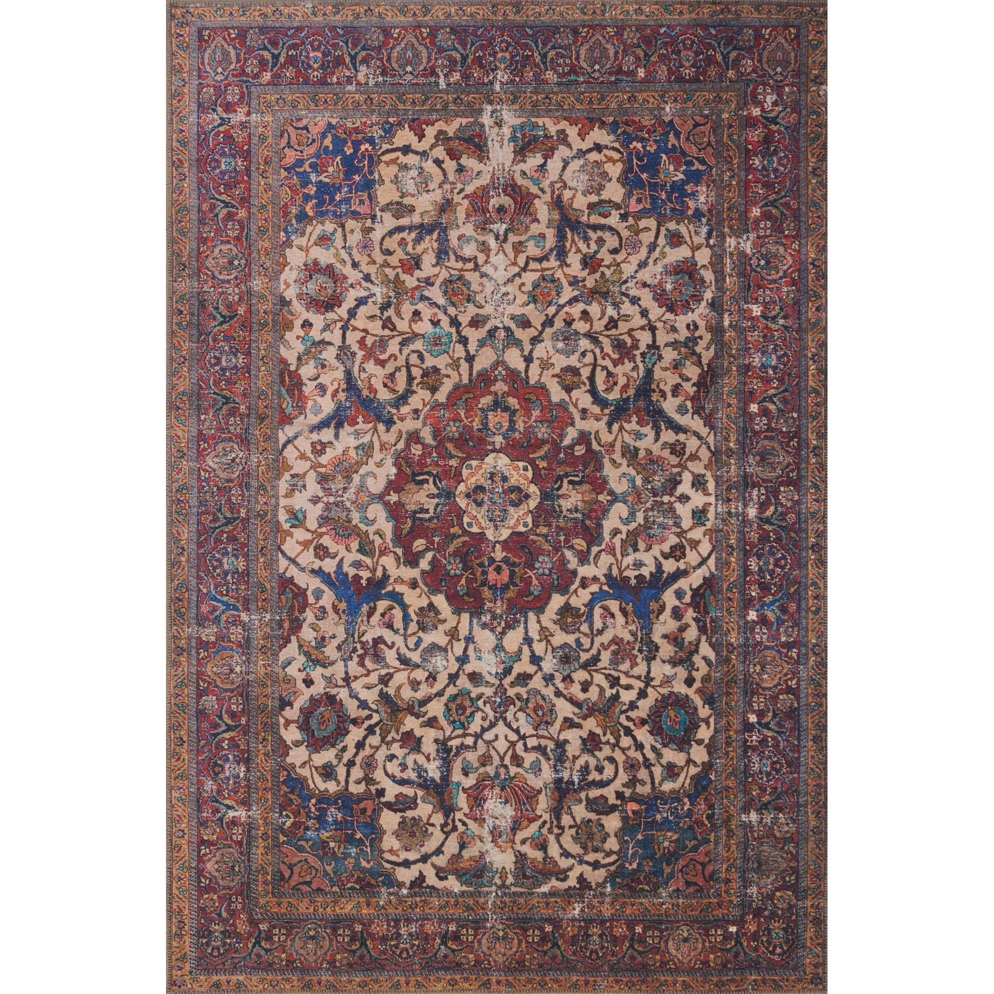 "Loren 3'-6"" x 5'-6"" Area Rug by Loloi Rugs at Sprintz Furniture"