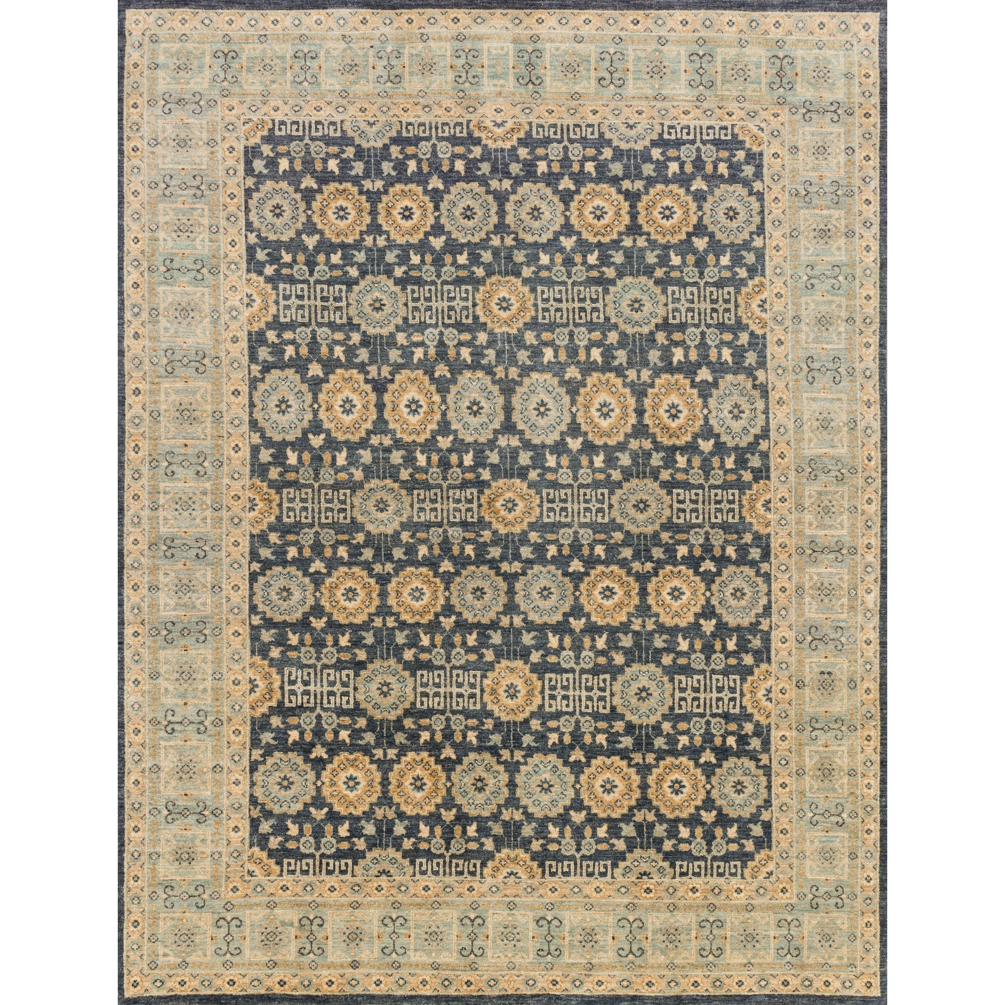 """Majestic 8'-0"""" x 8'-0"""" Round Rug by Loloi Rugs at Virginia Furniture Market"""