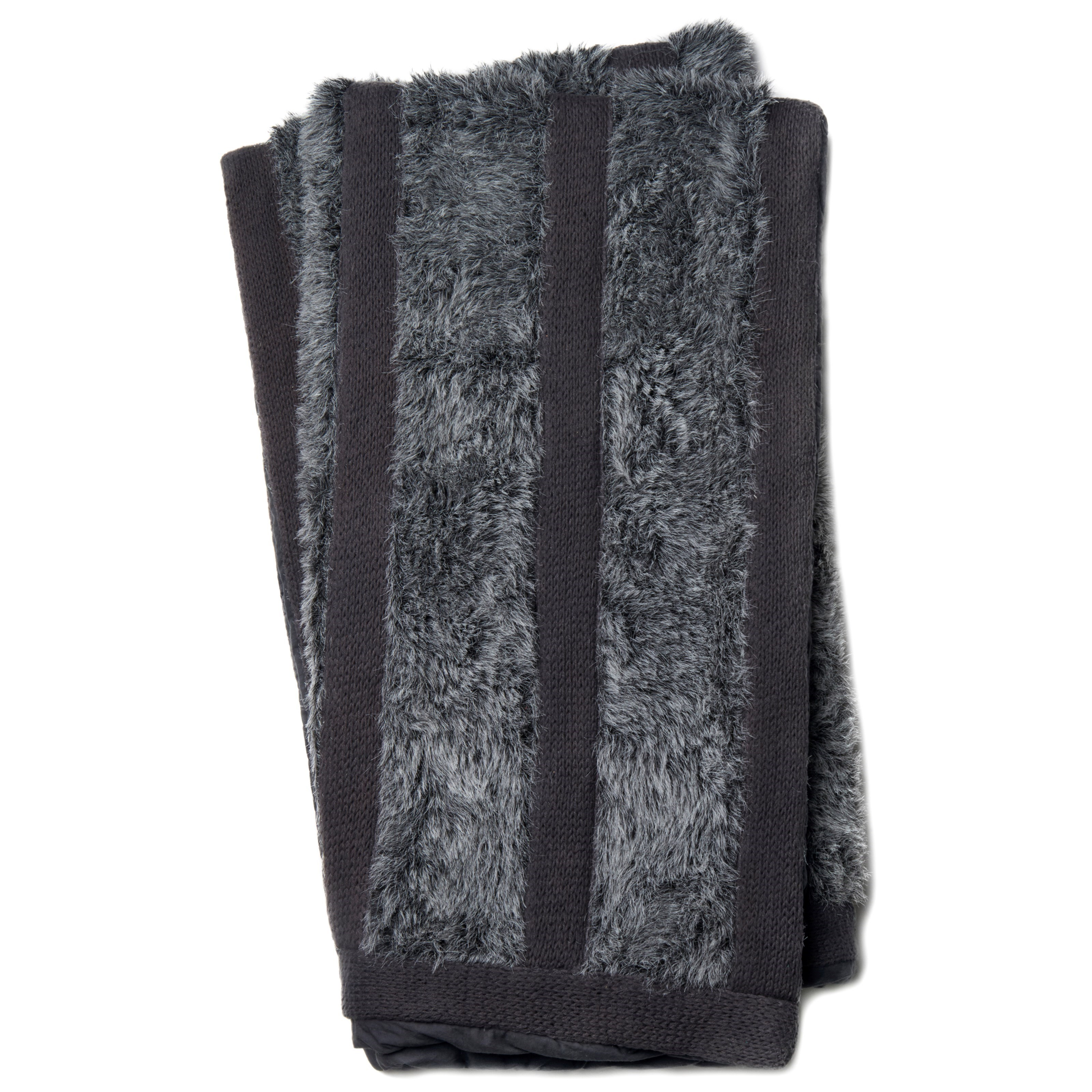 """Neva 4'2"""" x 5' Charcoal Throw by Loloi Rugs at Virginia Furniture Market"""
