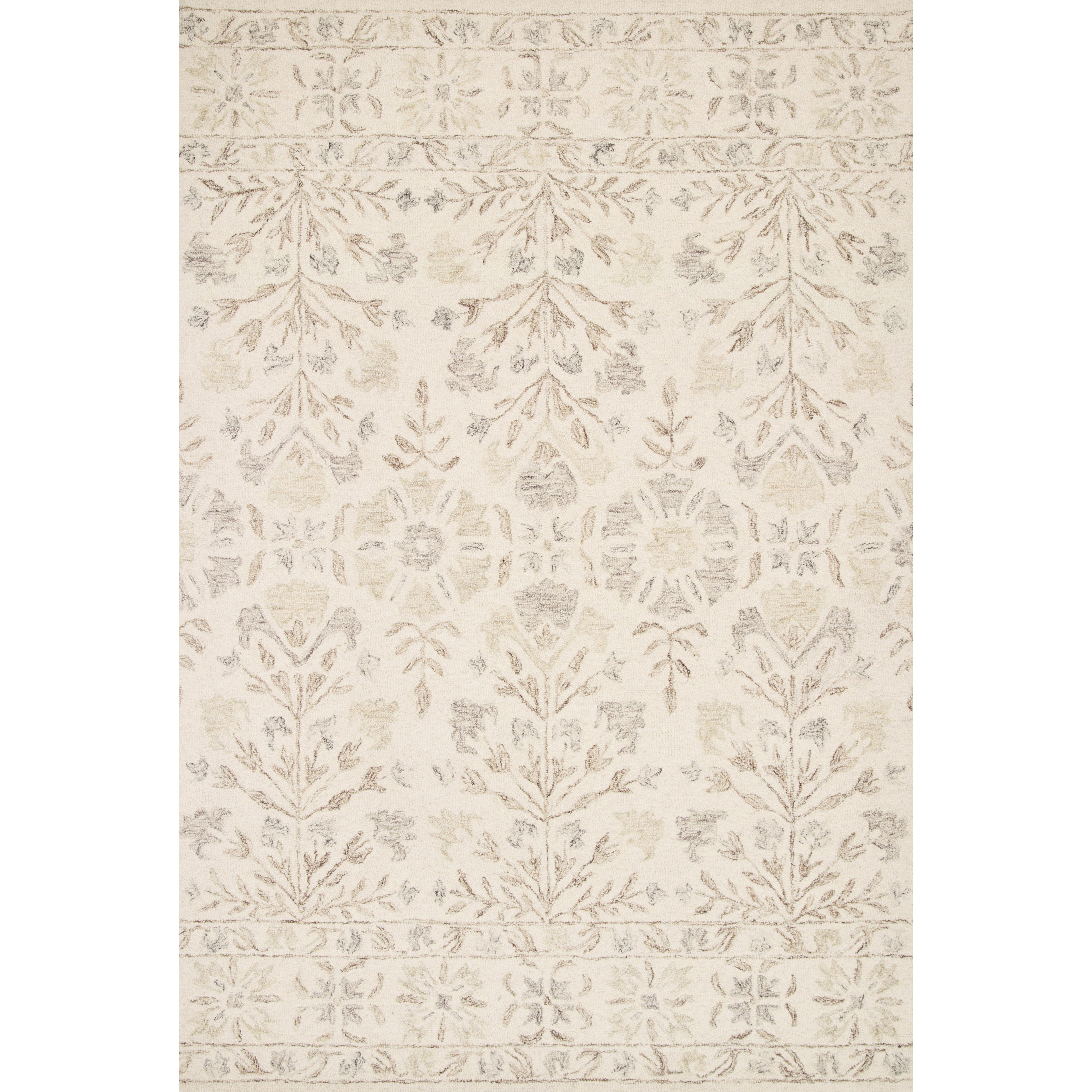 "Norabel 2'6"" x 7'6"" Ivory / Neutral Rug by Loloi Rugs at Virginia Furniture Market"