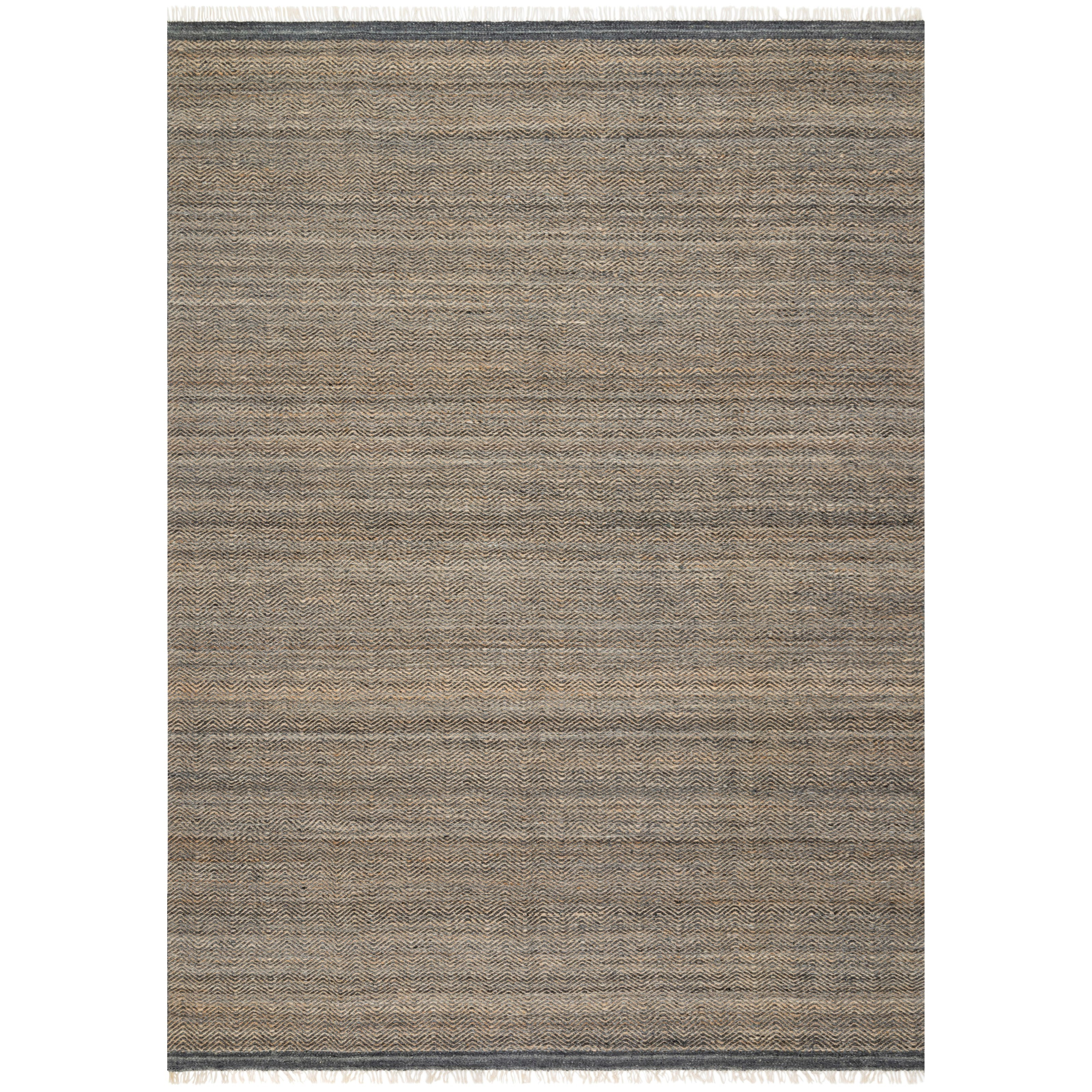 """Omen 3'6"""" x 5'6"""" Ink Rug by Loloi Rugs at Virginia Furniture Market"""