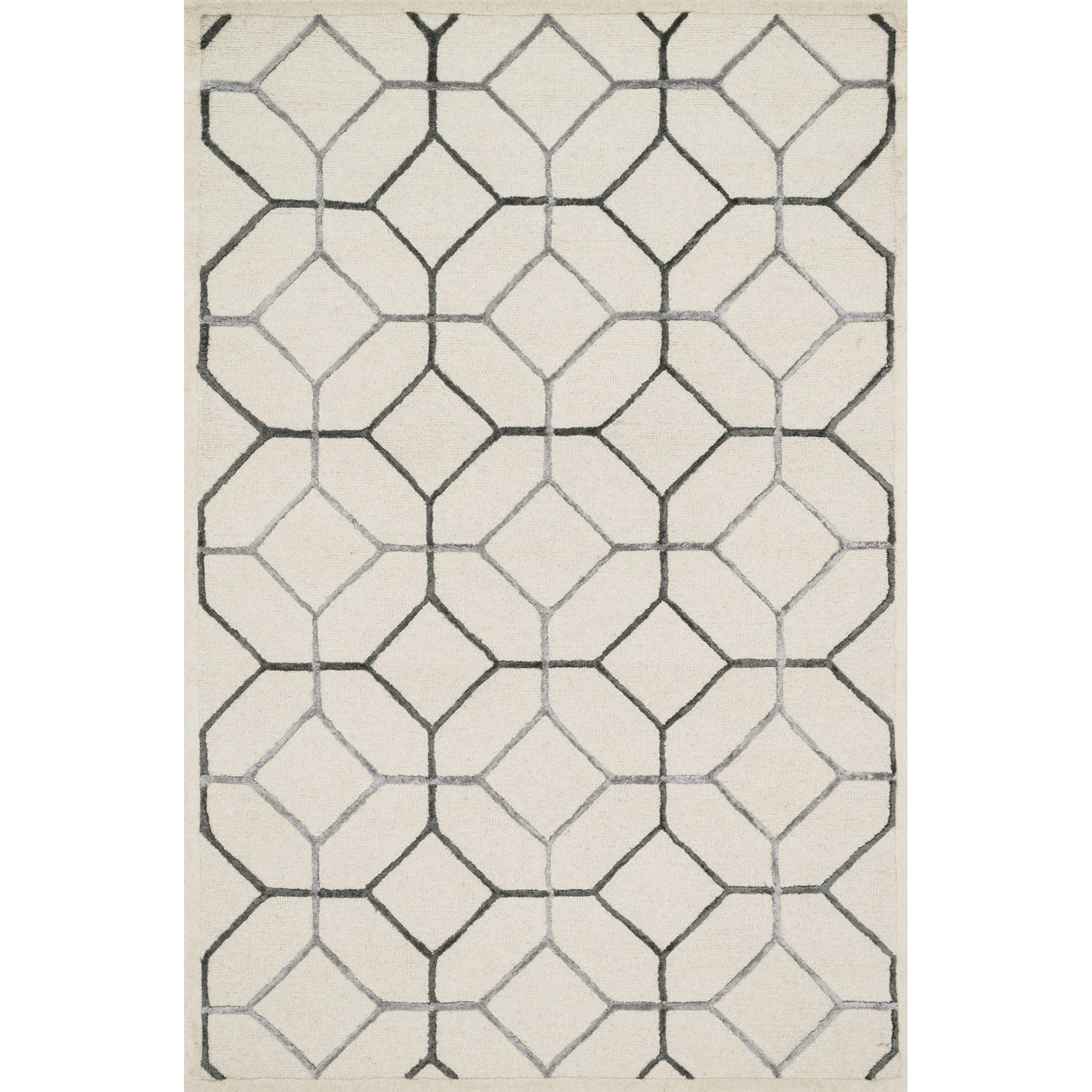 """Panache 3'-6"""" x 5'-6"""" Area Rug by Loloi Rugs at Virginia Furniture Market"""