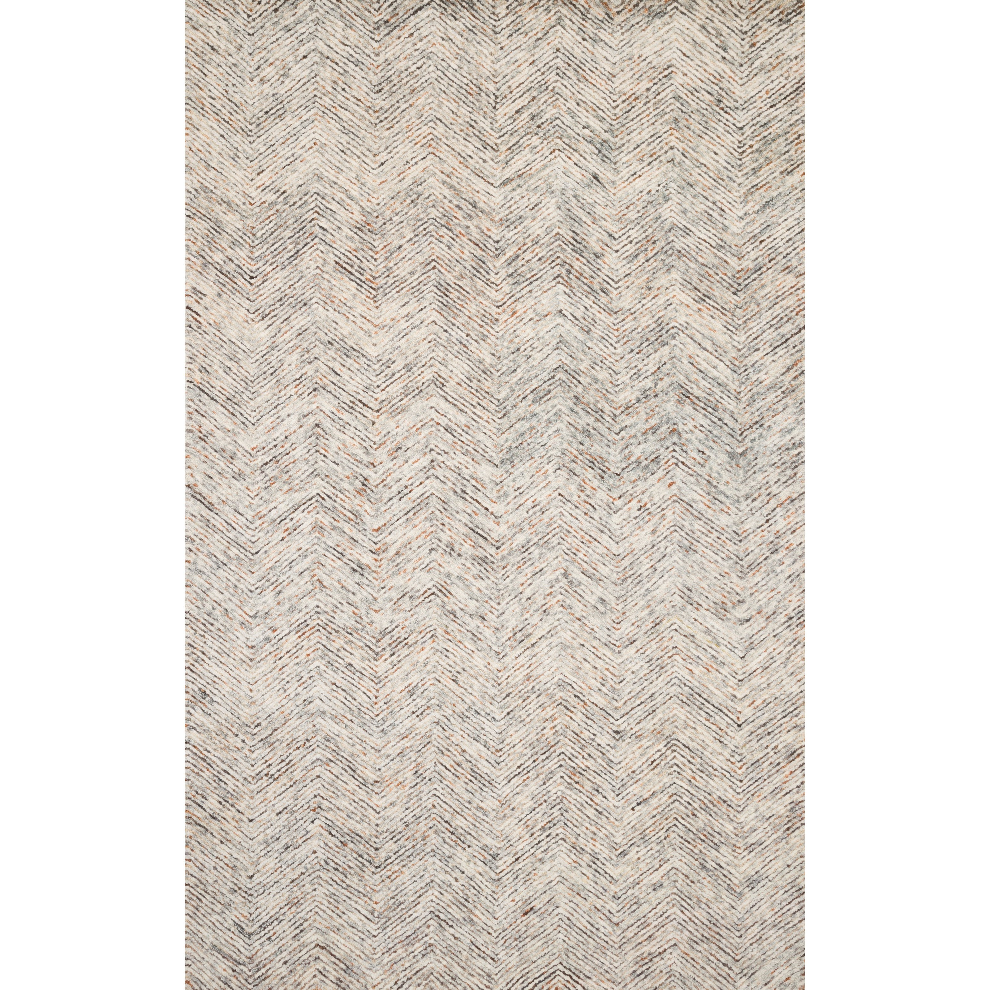 "Peregrine 11'6"" x 15' Lt Grey / Multi Rug by Loloi Rugs at Virginia Furniture Market"
